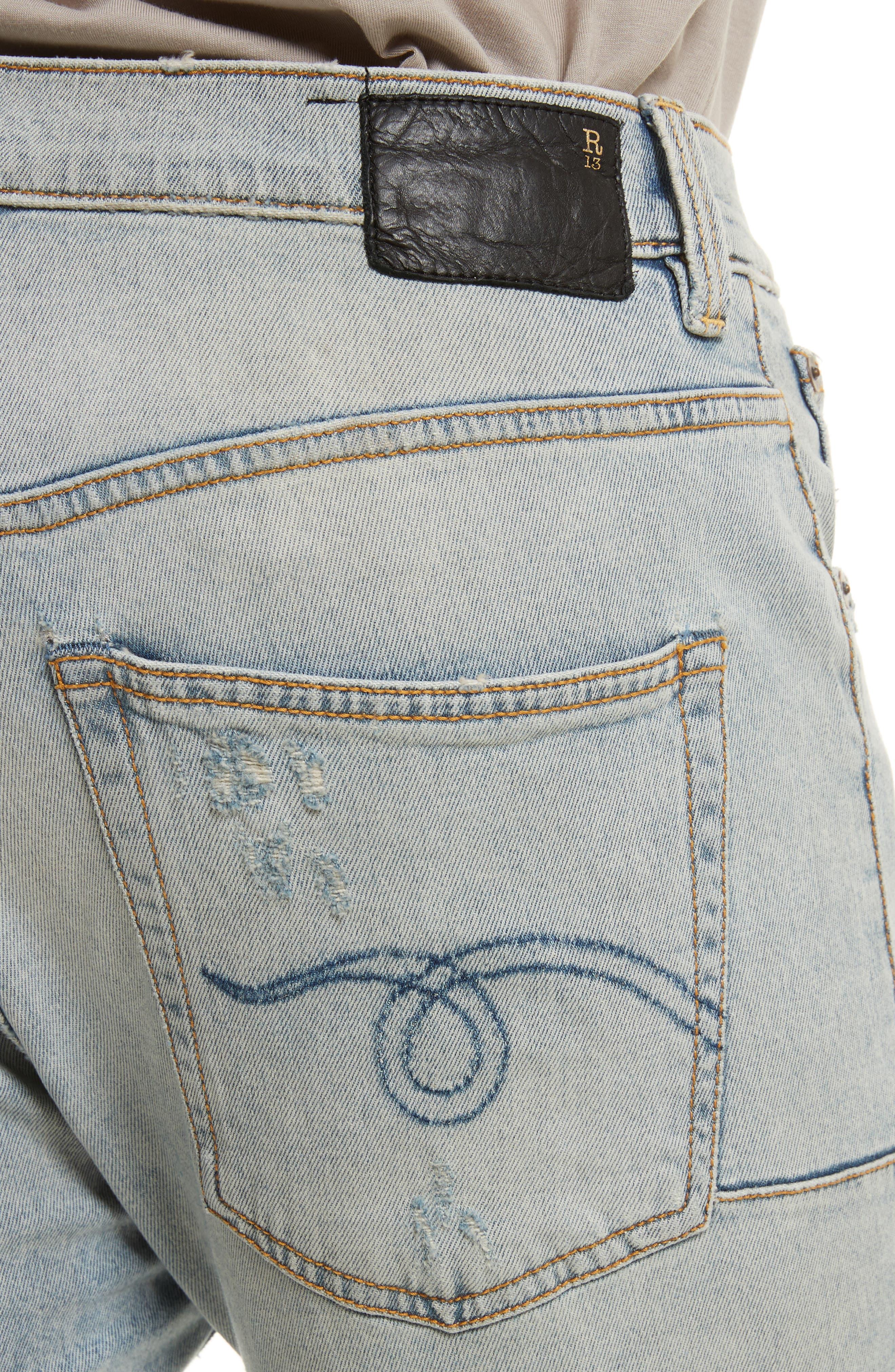 Skate Destroyed Jeans,                             Alternate thumbnail 4, color,                             460