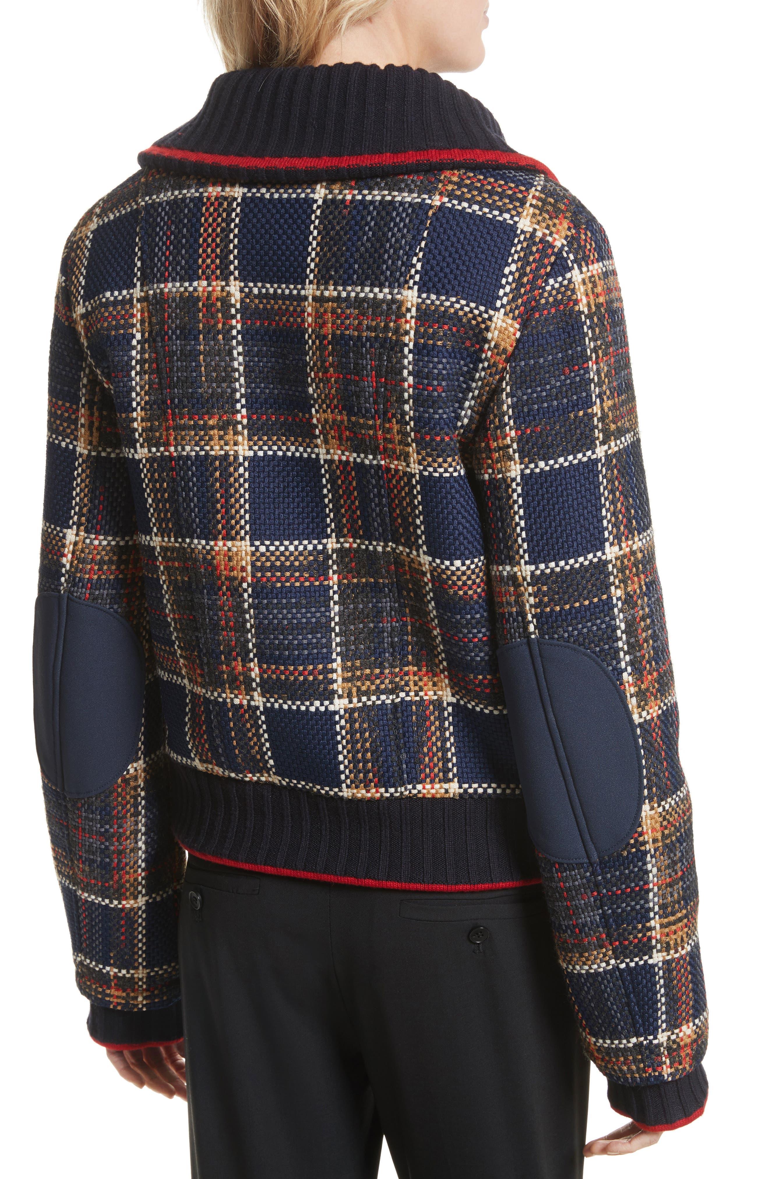 Crop Tweed Jacket,                             Alternate thumbnail 2, color,                             493