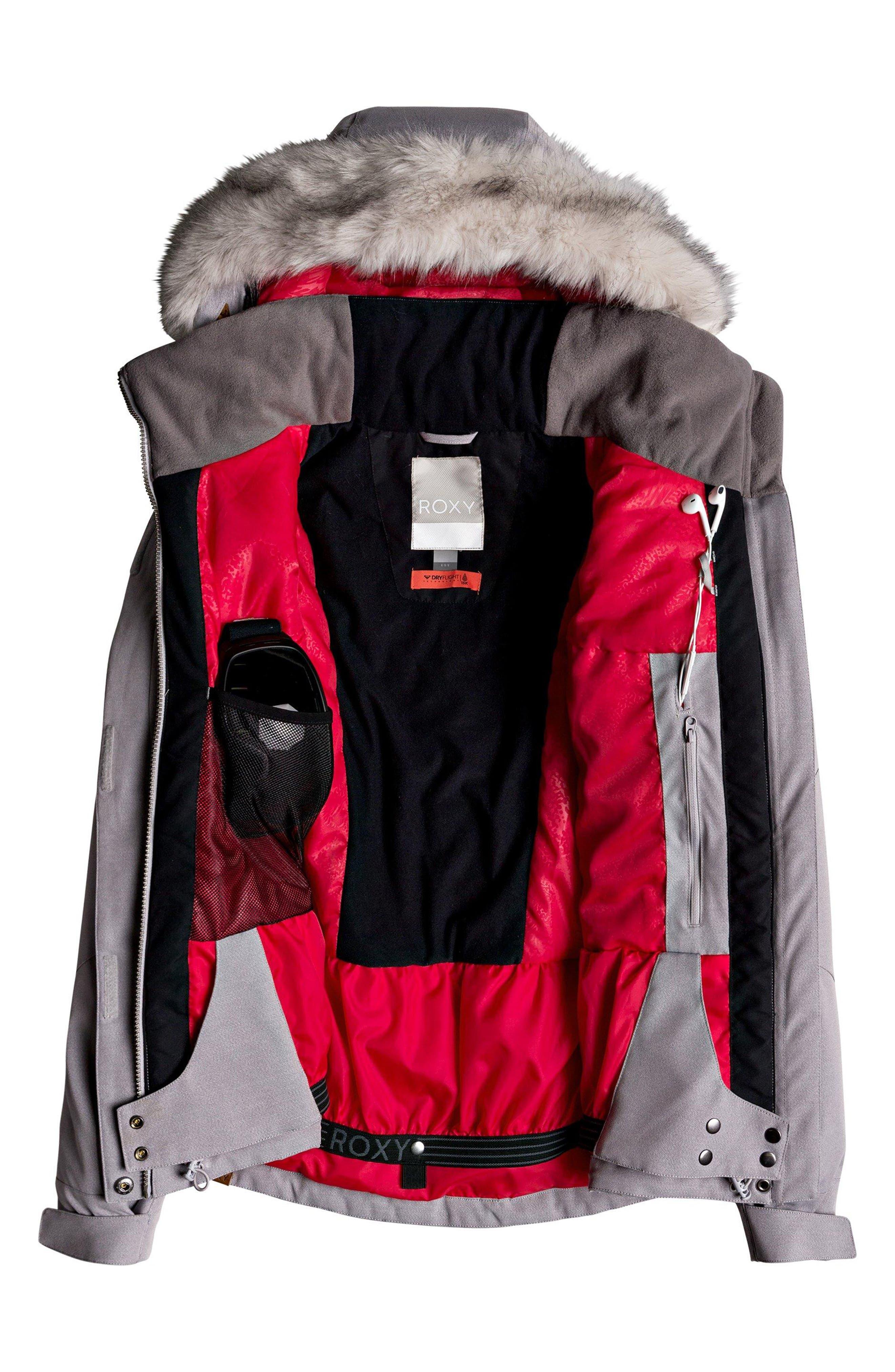 ROXY,                             Atmosphere Snow Jacket,                             Alternate thumbnail 2, color,                             020