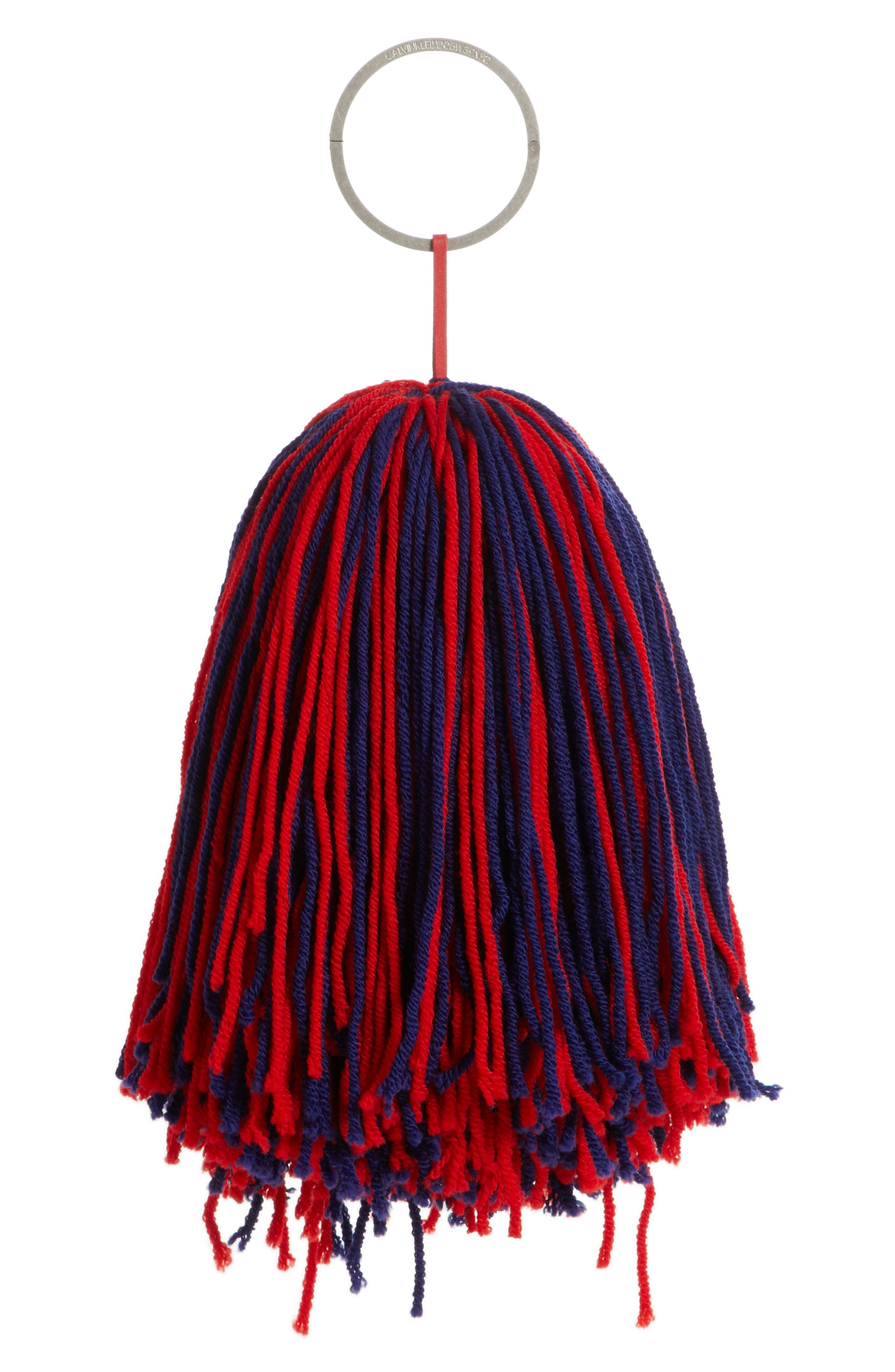 Pompom Bag Charm,                             Main thumbnail 1, color,                             600
