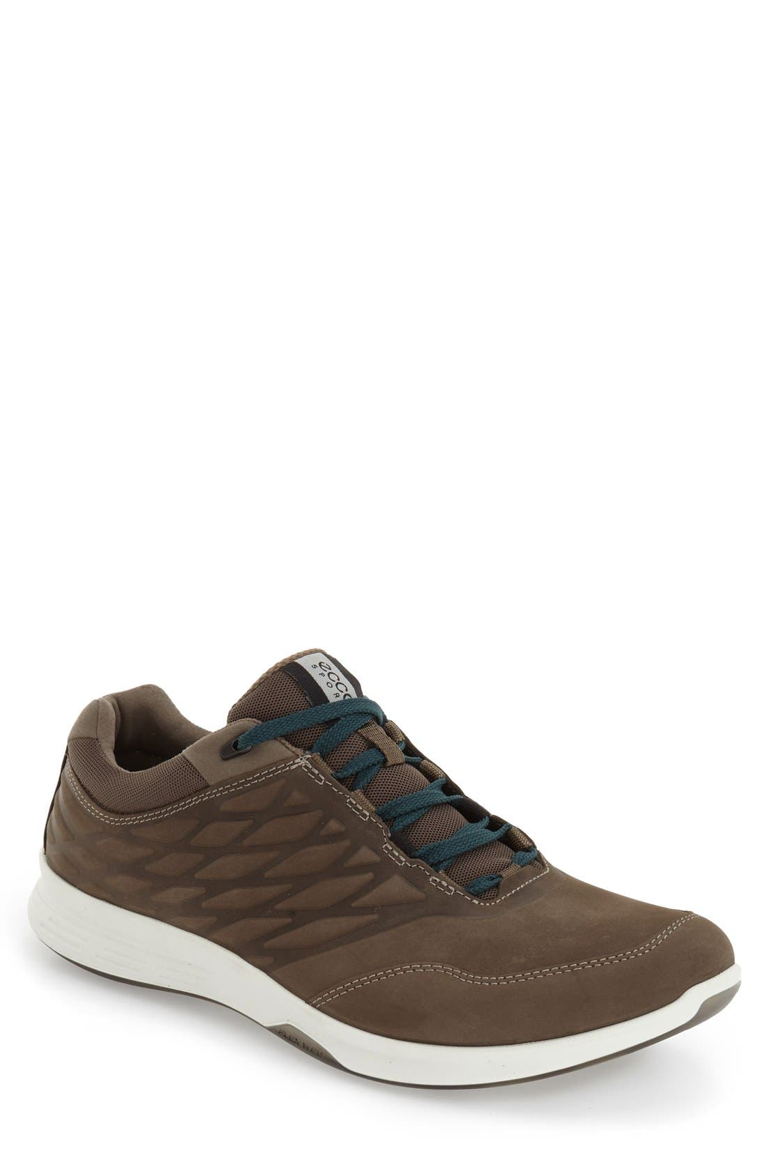 'Exceed' Leather Sneaker,                         Main,                         color, 200