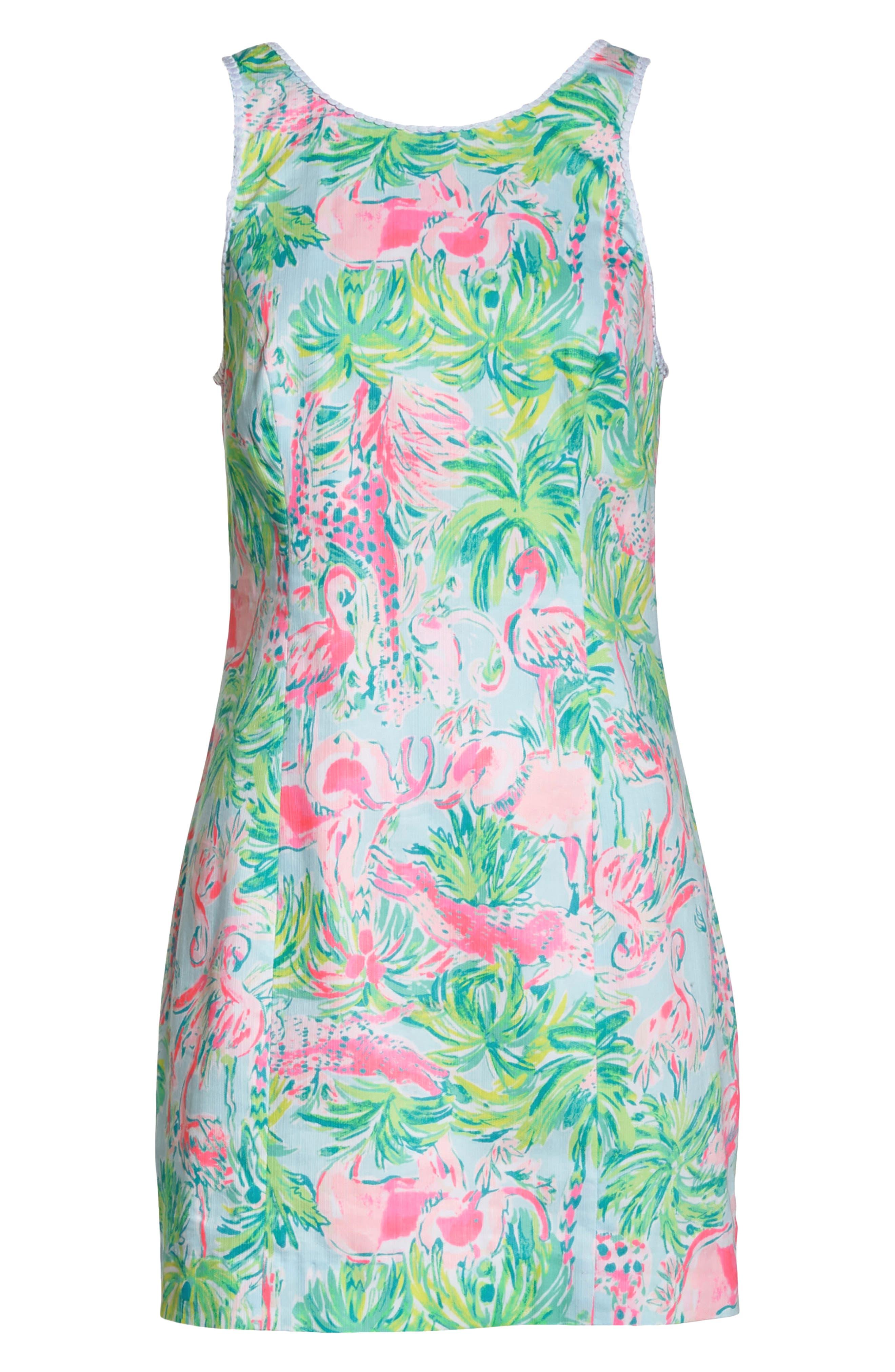 Mila Cotton Minidress,                             Alternate thumbnail 7, color,                             400