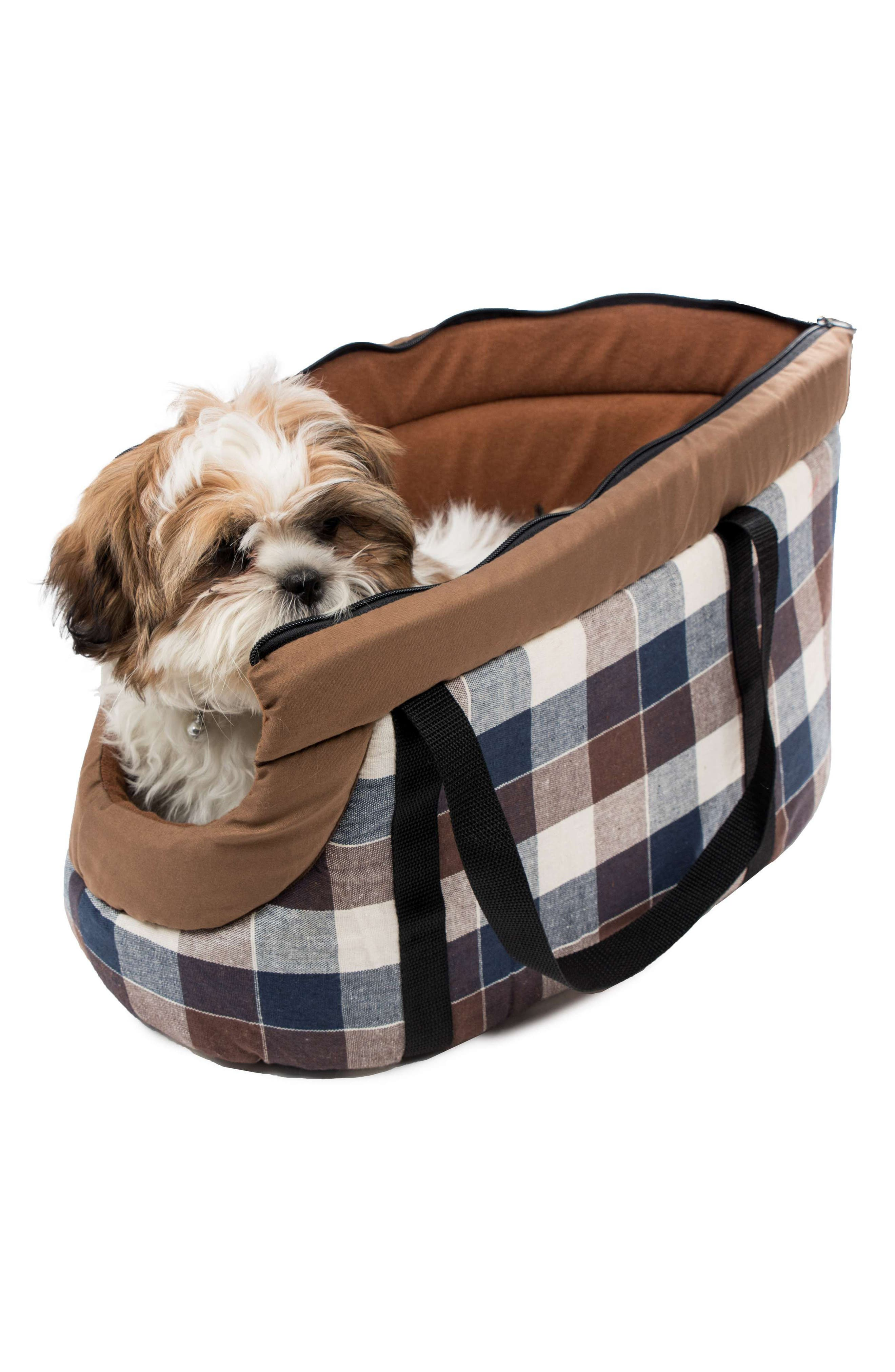 Hasley Pet Carrier,                             Alternate thumbnail 2, color,                             CHOCOLATE