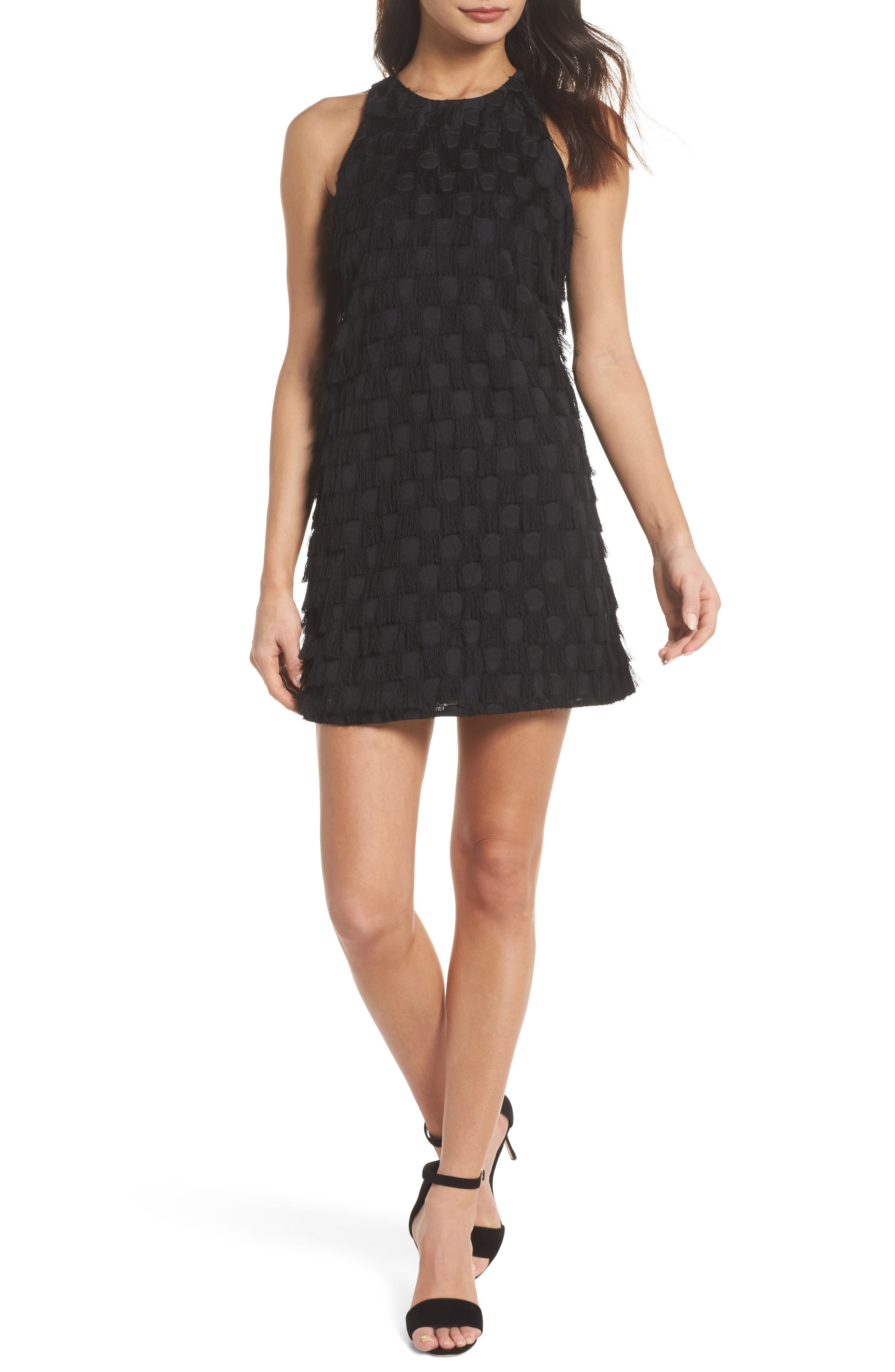 ALI & JAY Shake Your Tail Feathers Minidress, Main, color, 001