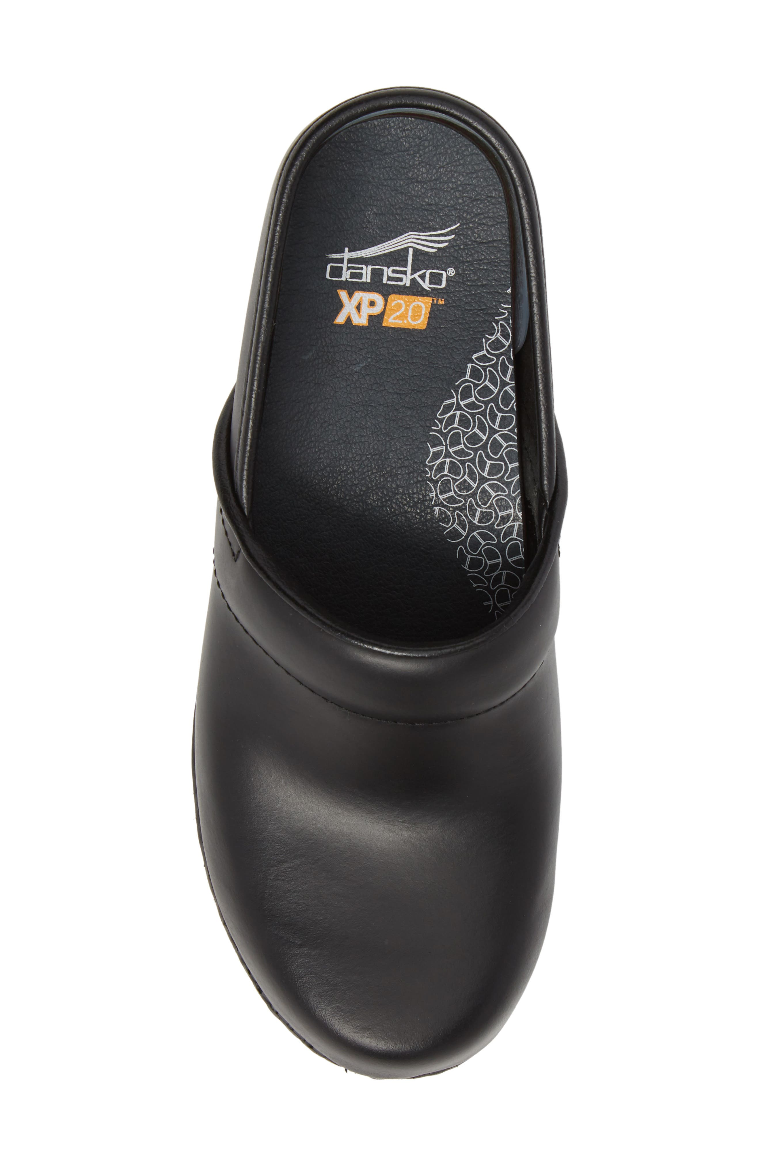 Pro XP 2.0 Clog,                             Alternate thumbnail 5, color,                             BLACK PULL UP LEATHER