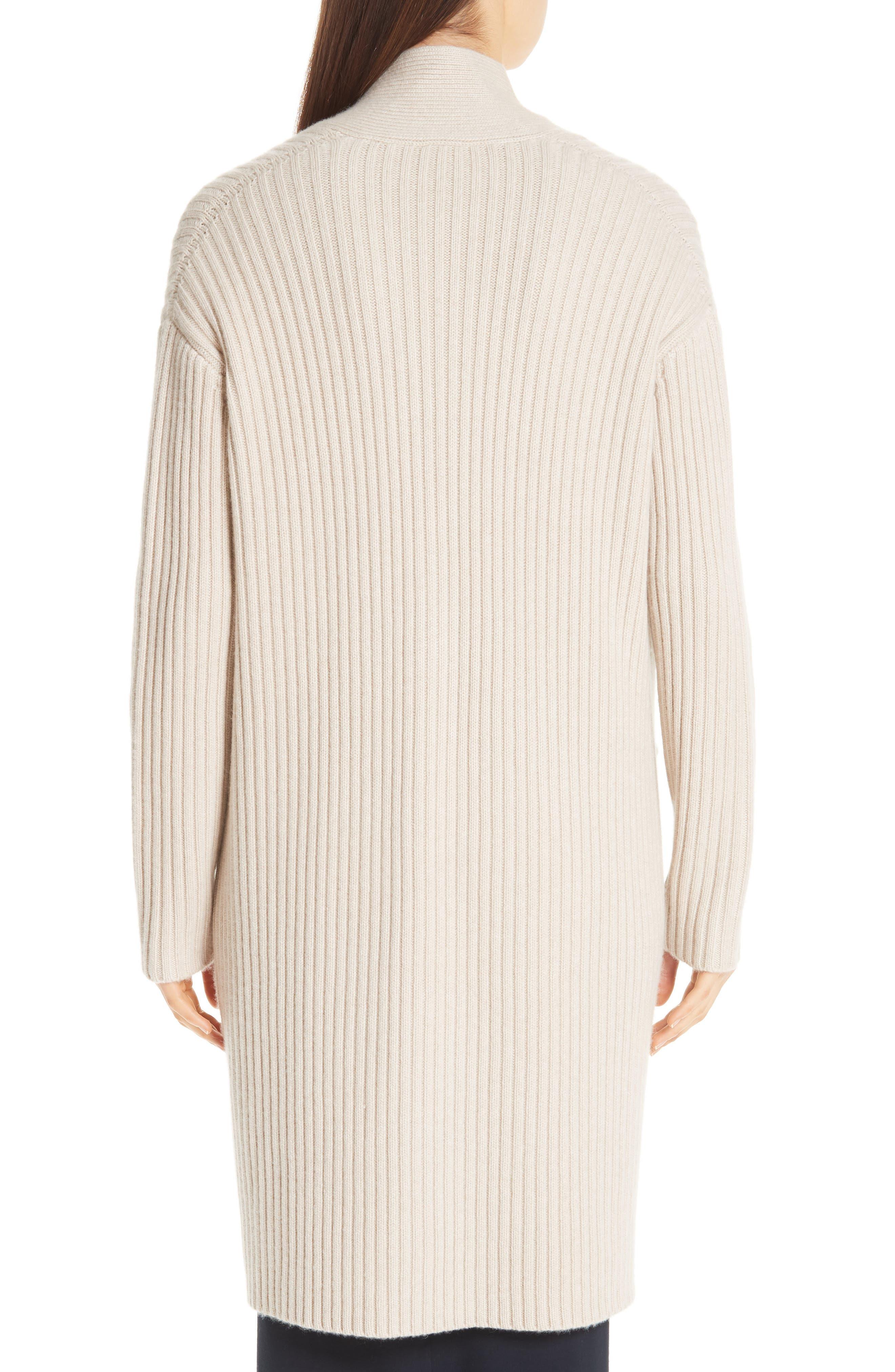 Lia Cashmere & Merino Wool Sweater,                             Alternate thumbnail 2, color,                             SAND