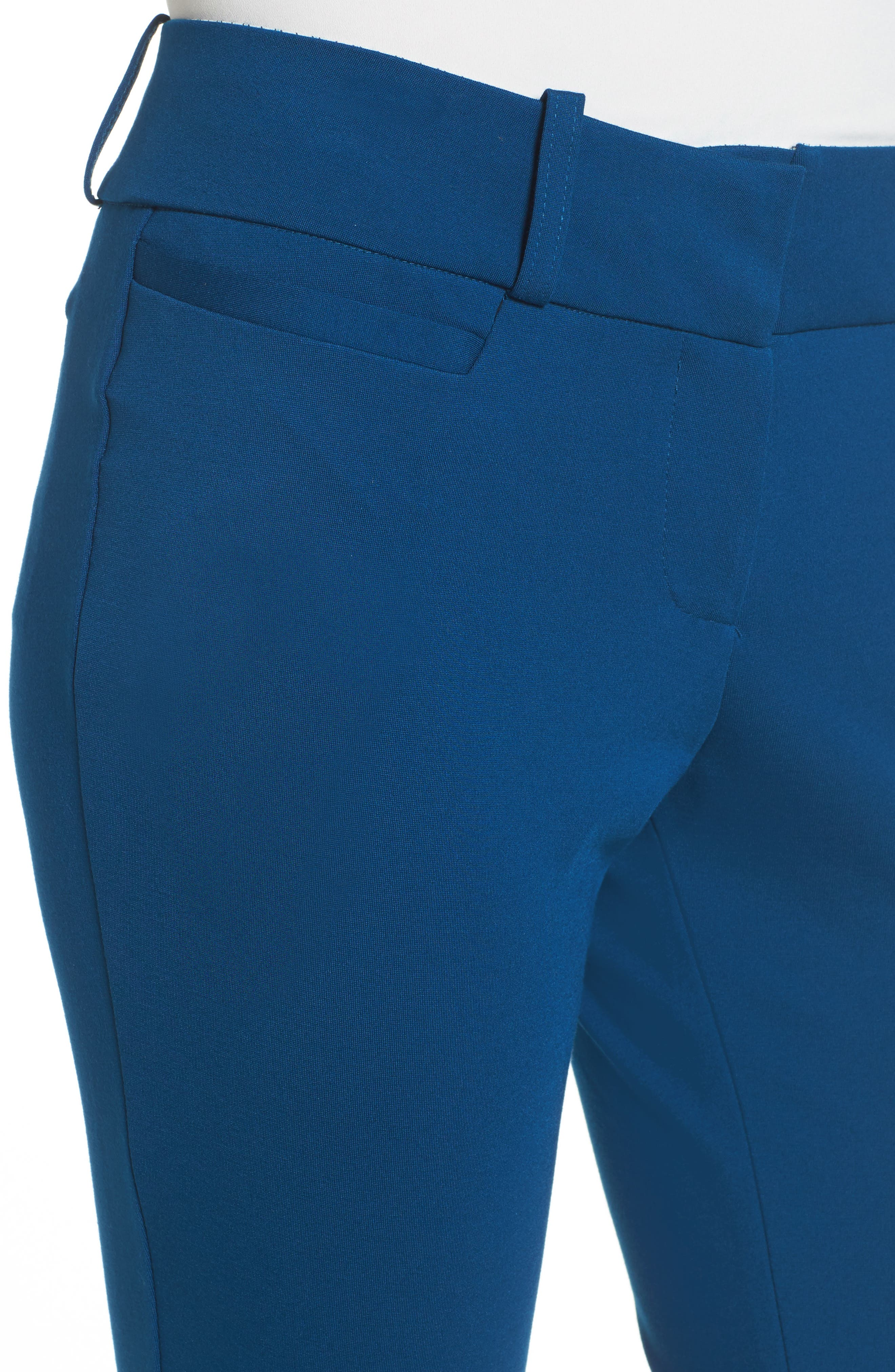 Jane Brown Trousers,                             Alternate thumbnail 4, color,                             NEW NAVY