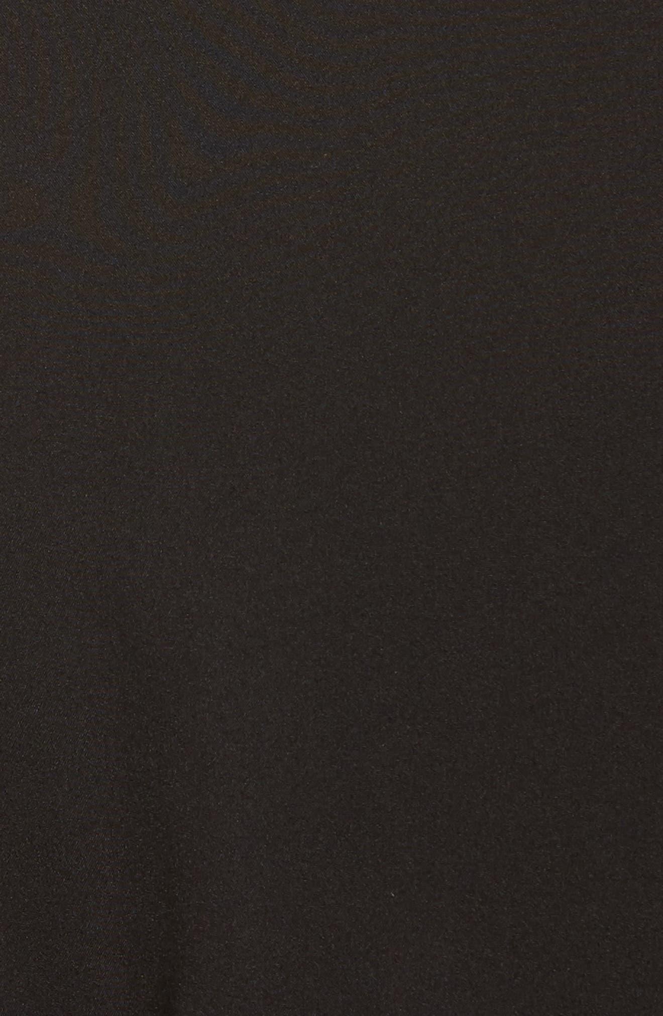 Asymmetrical Zip Coat,                             Alternate thumbnail 6, color,                             001