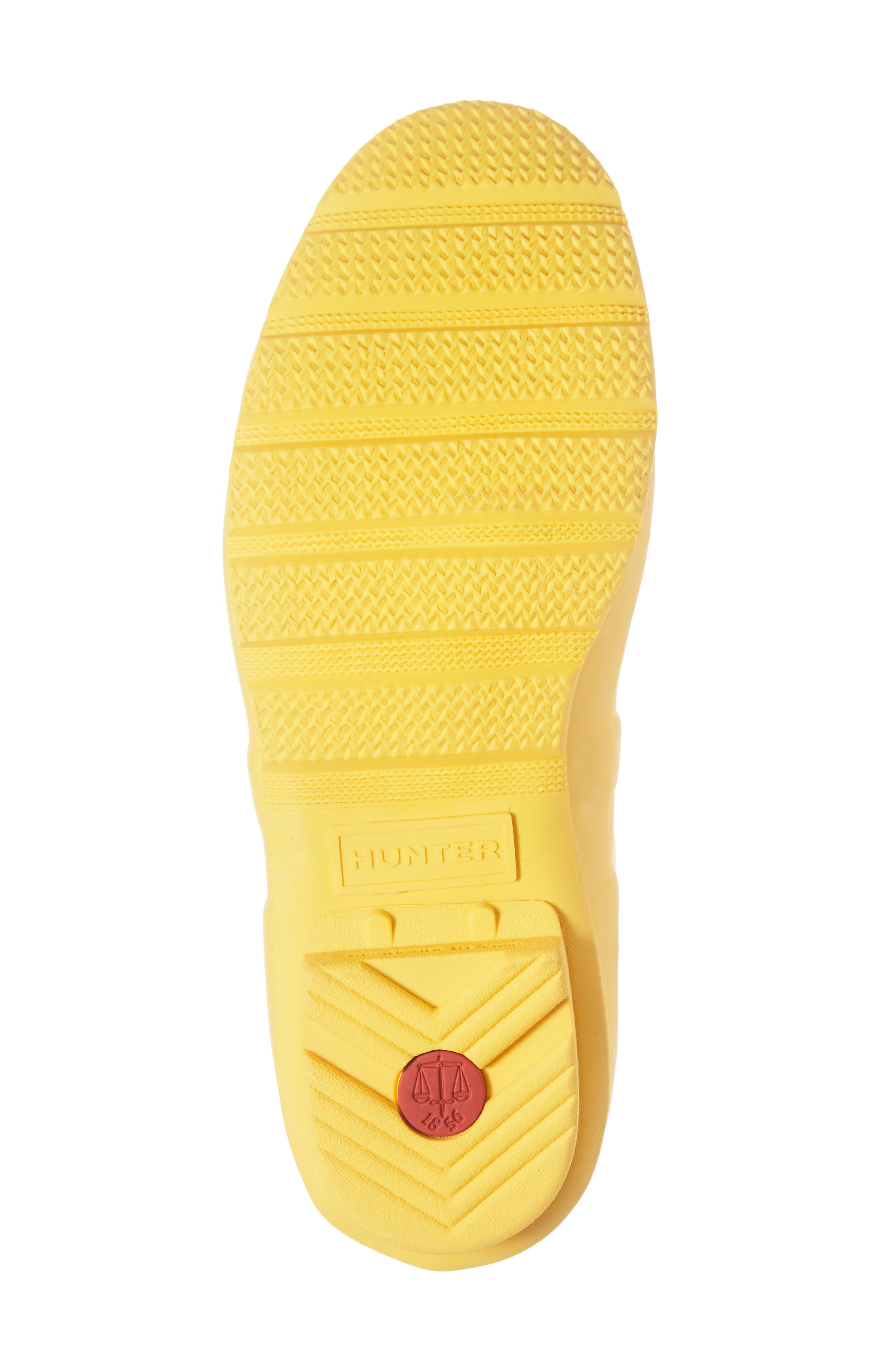 Original Short Back Adjustable Rain Boot,                             Alternate thumbnail 6, color,                             YELLOW