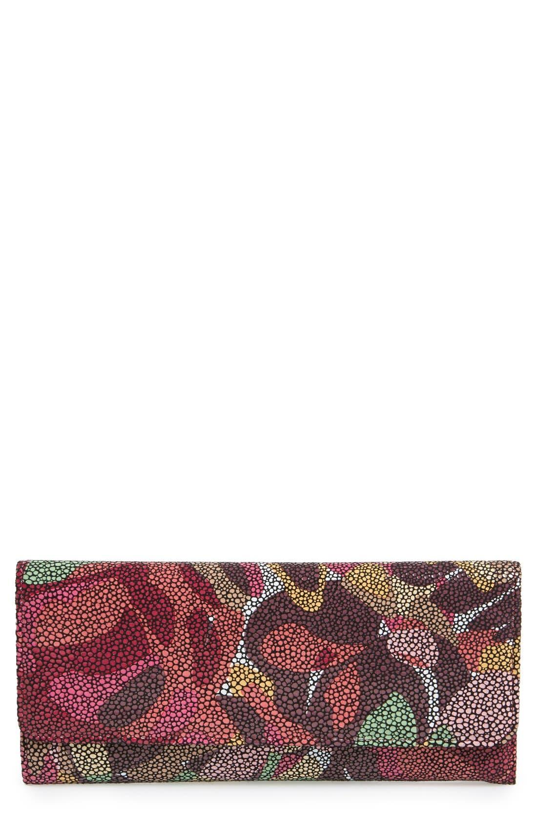 'Sadie' Leather Wallet,                             Main thumbnail 57, color,