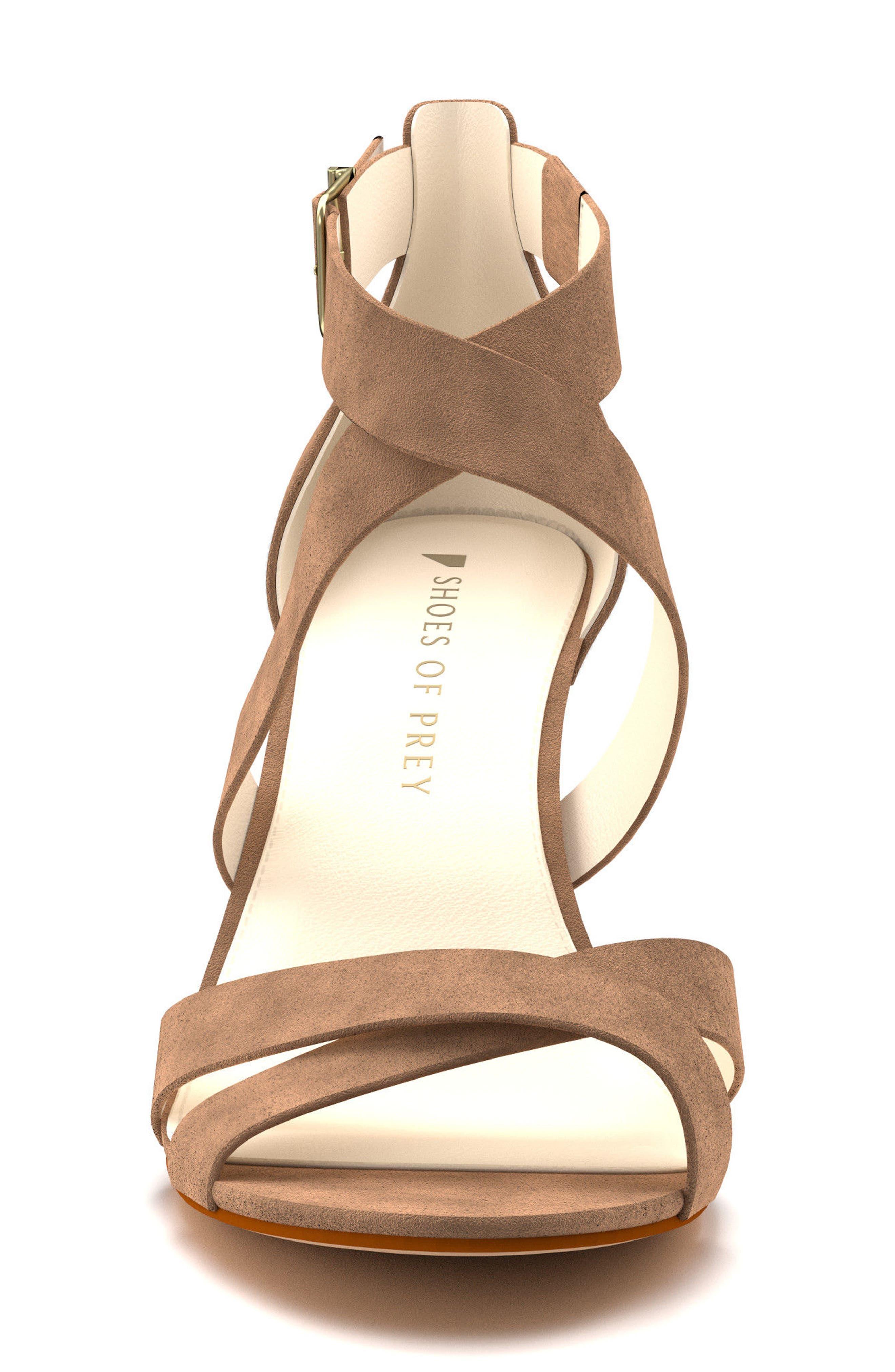 Crisscross Strappy Sandal,                             Alternate thumbnail 9, color,