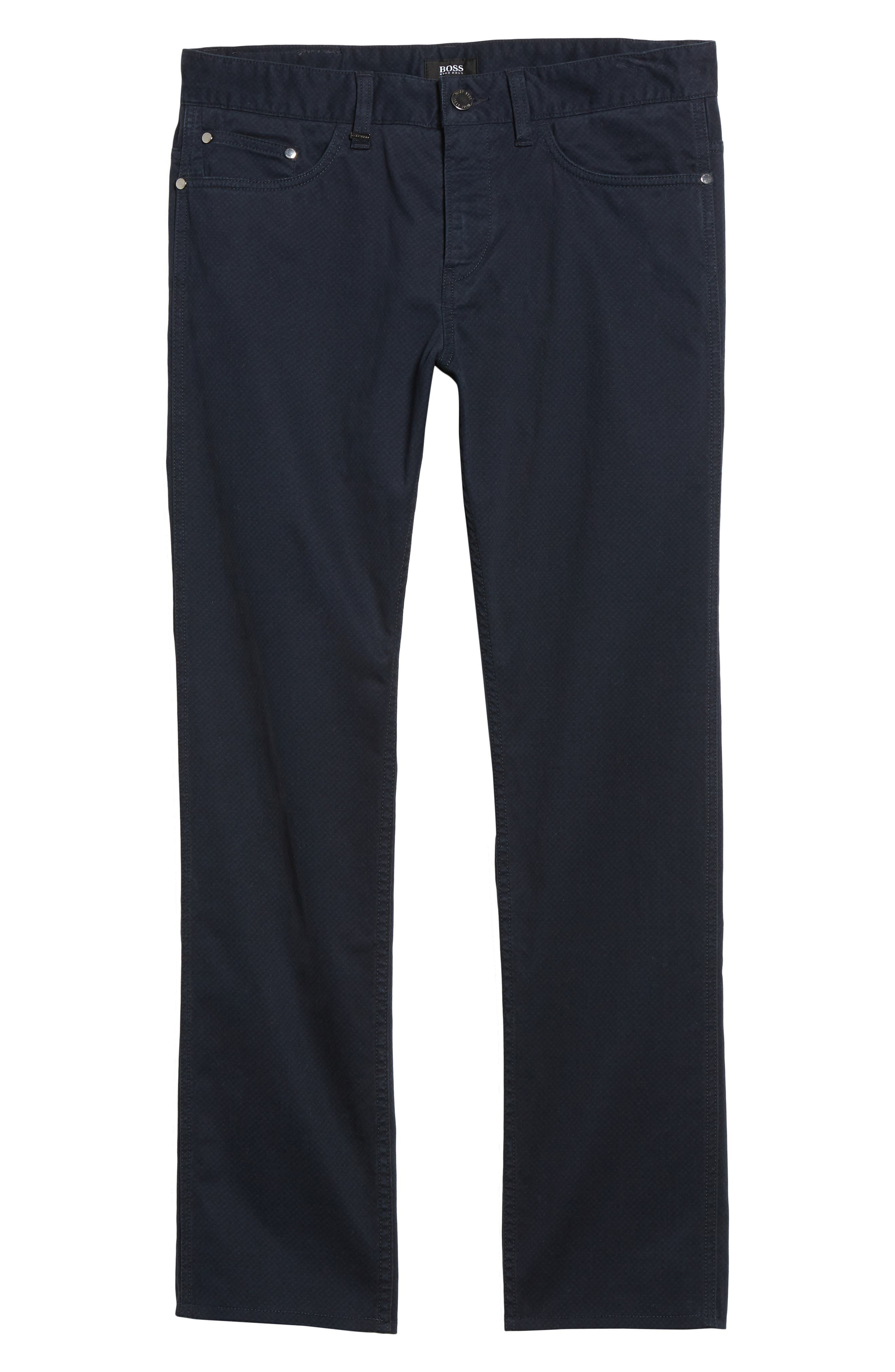 Delaware Slim Fit Pants,                             Alternate thumbnail 6, color,                             410