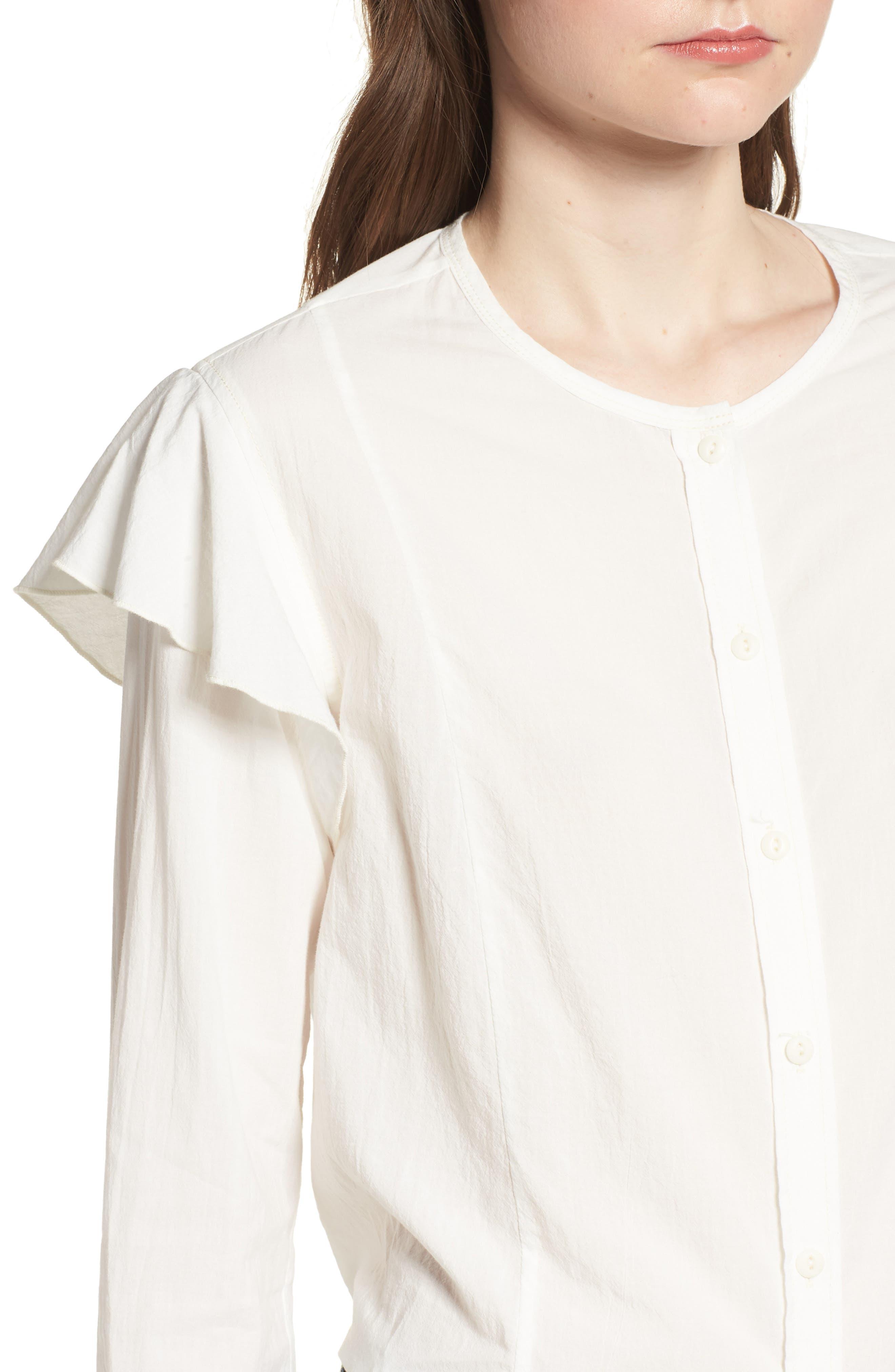 The Asley Shirt,                             Alternate thumbnail 4, color,                             124