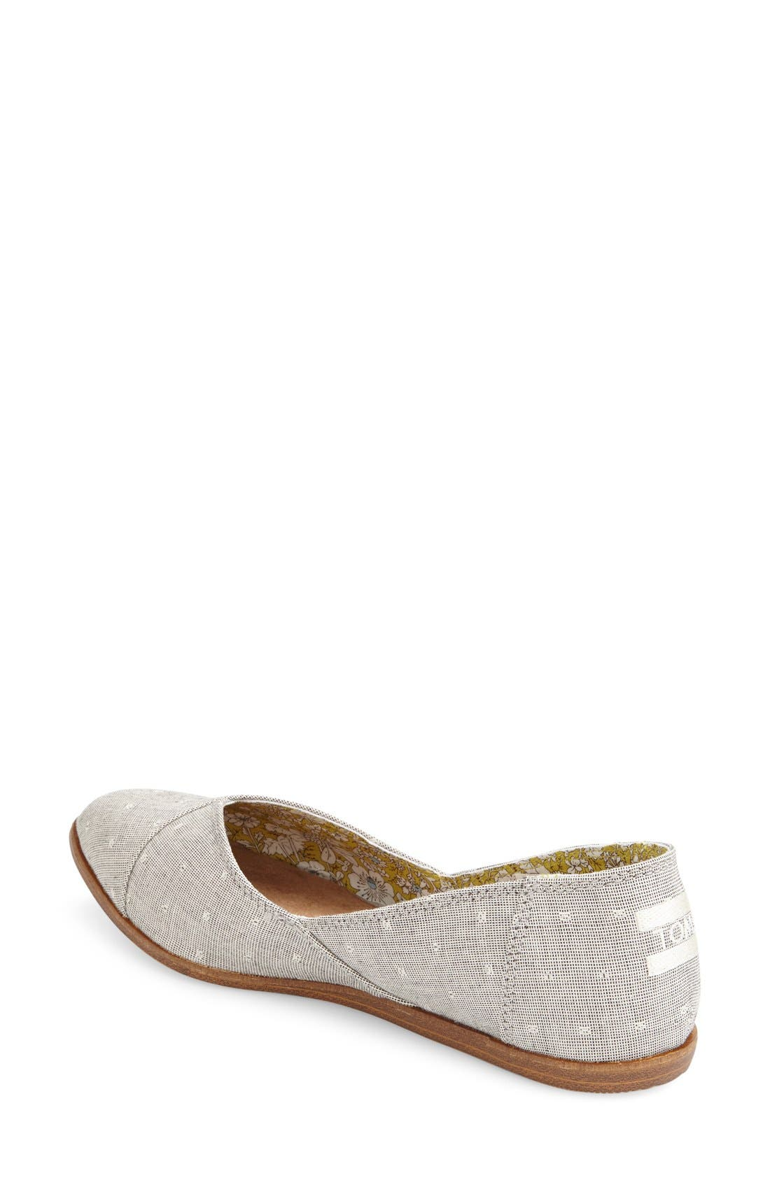 'Jutti' Chambray Flat,                             Alternate thumbnail 2, color,