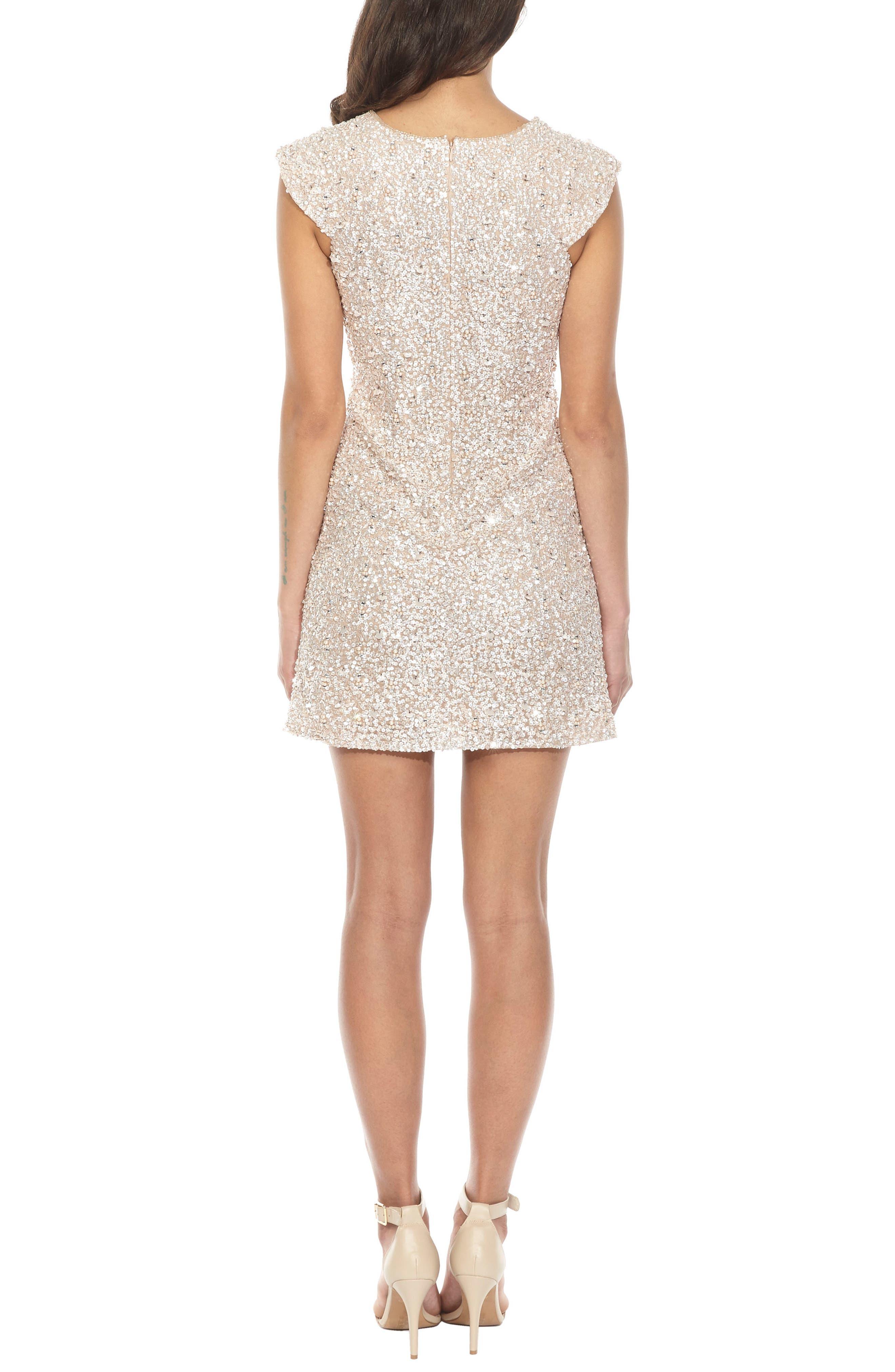 Pica Sequin Minidress,                             Alternate thumbnail 2, color,                             250