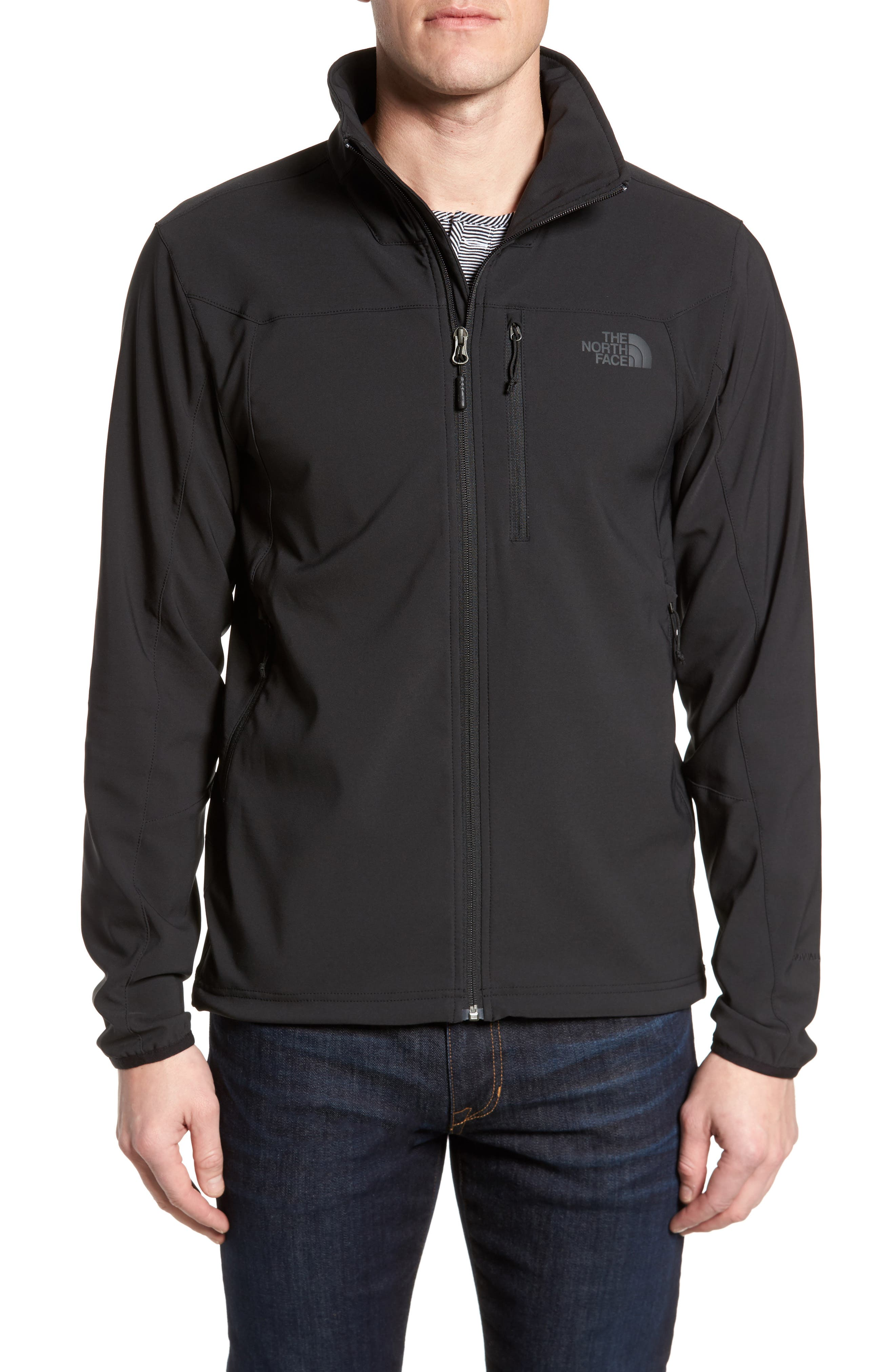 Apex Nimble Jacket,                         Main,                         color, BLACK/ BLACK