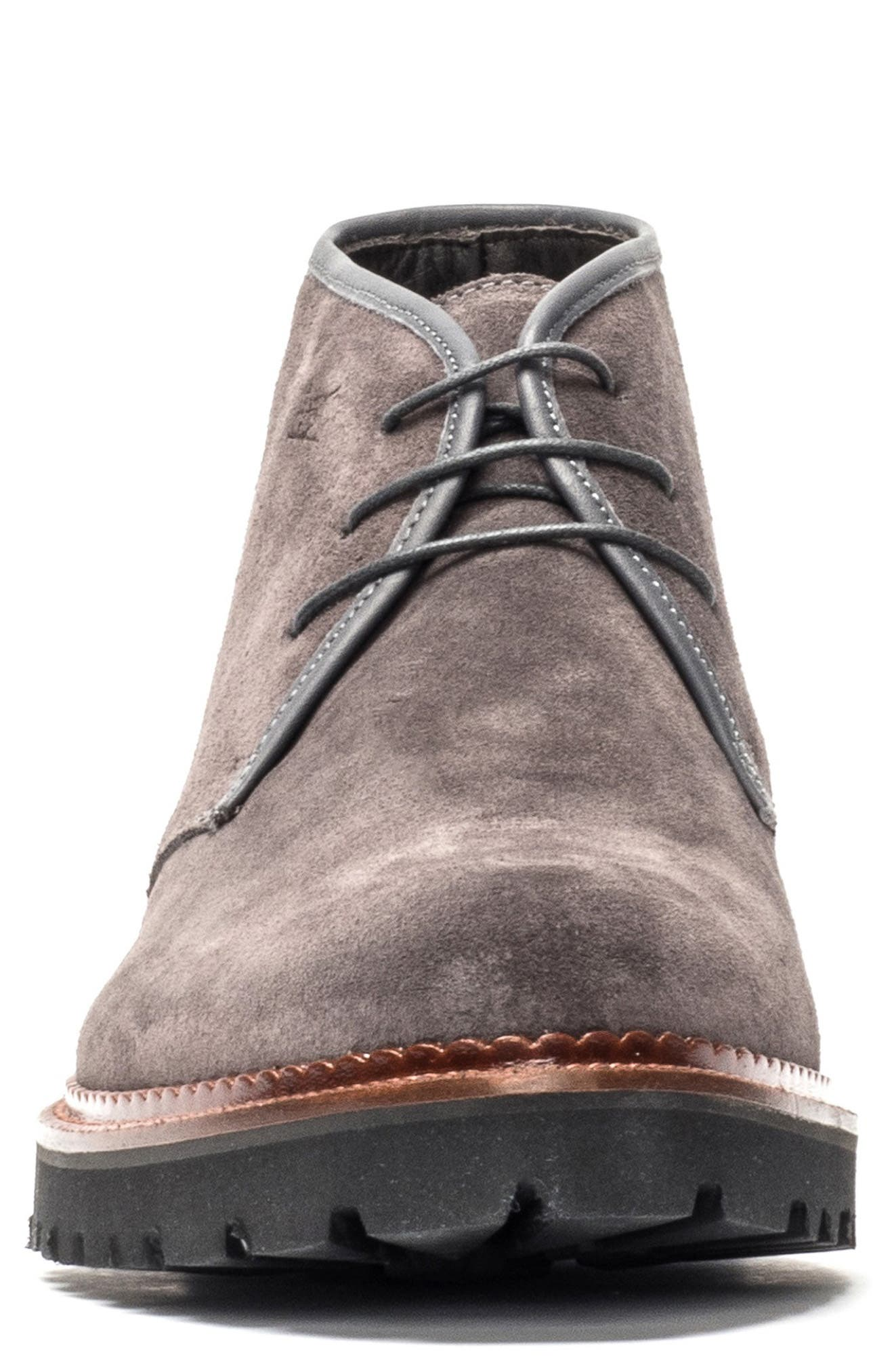 Lake Gunn Water Repellent Chukka Boot,                             Alternate thumbnail 3, color,                             GRANITE
