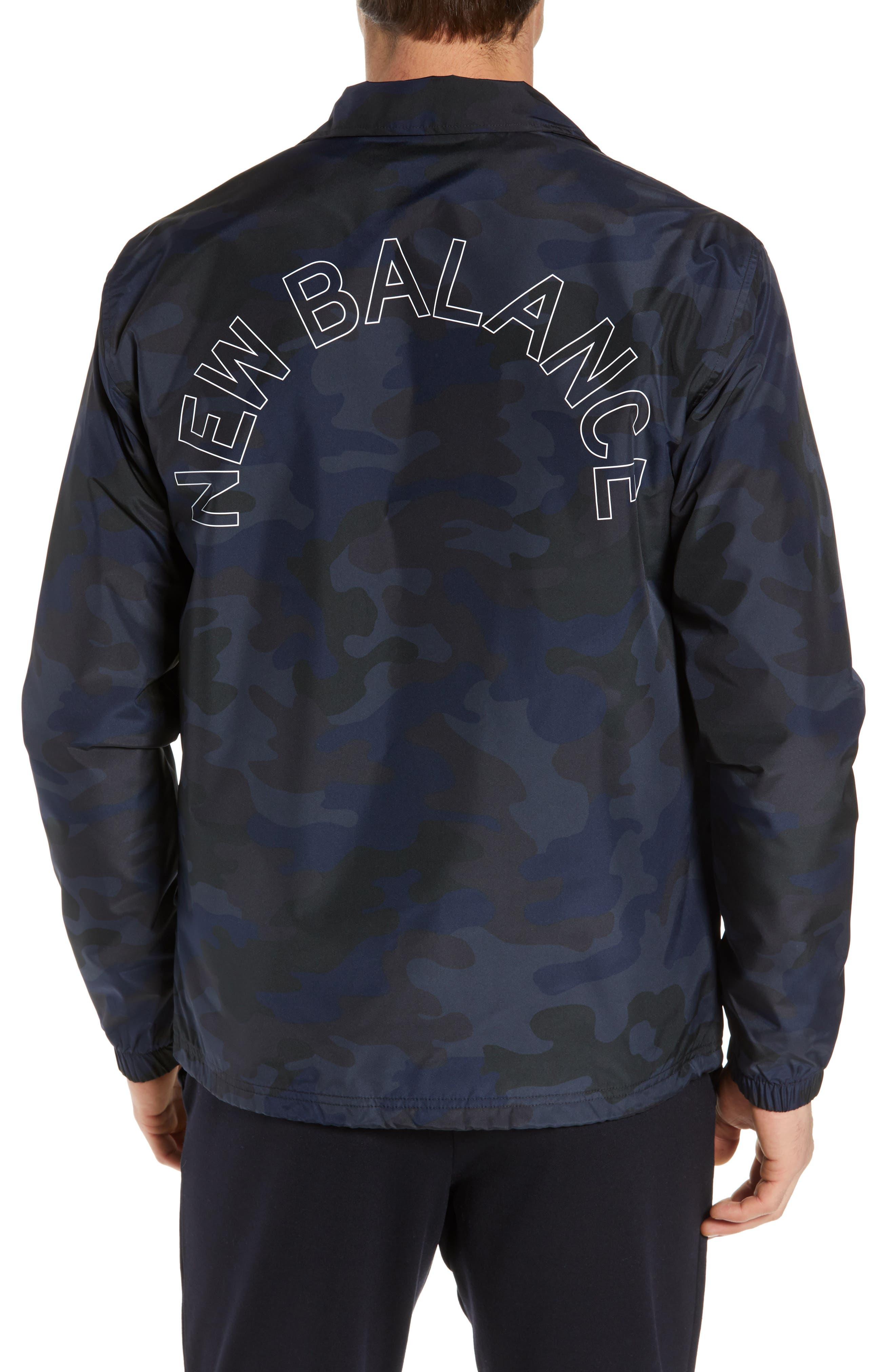 Classic Coach's Jacket,                             Alternate thumbnail 2, color,                             BLACK MULTI