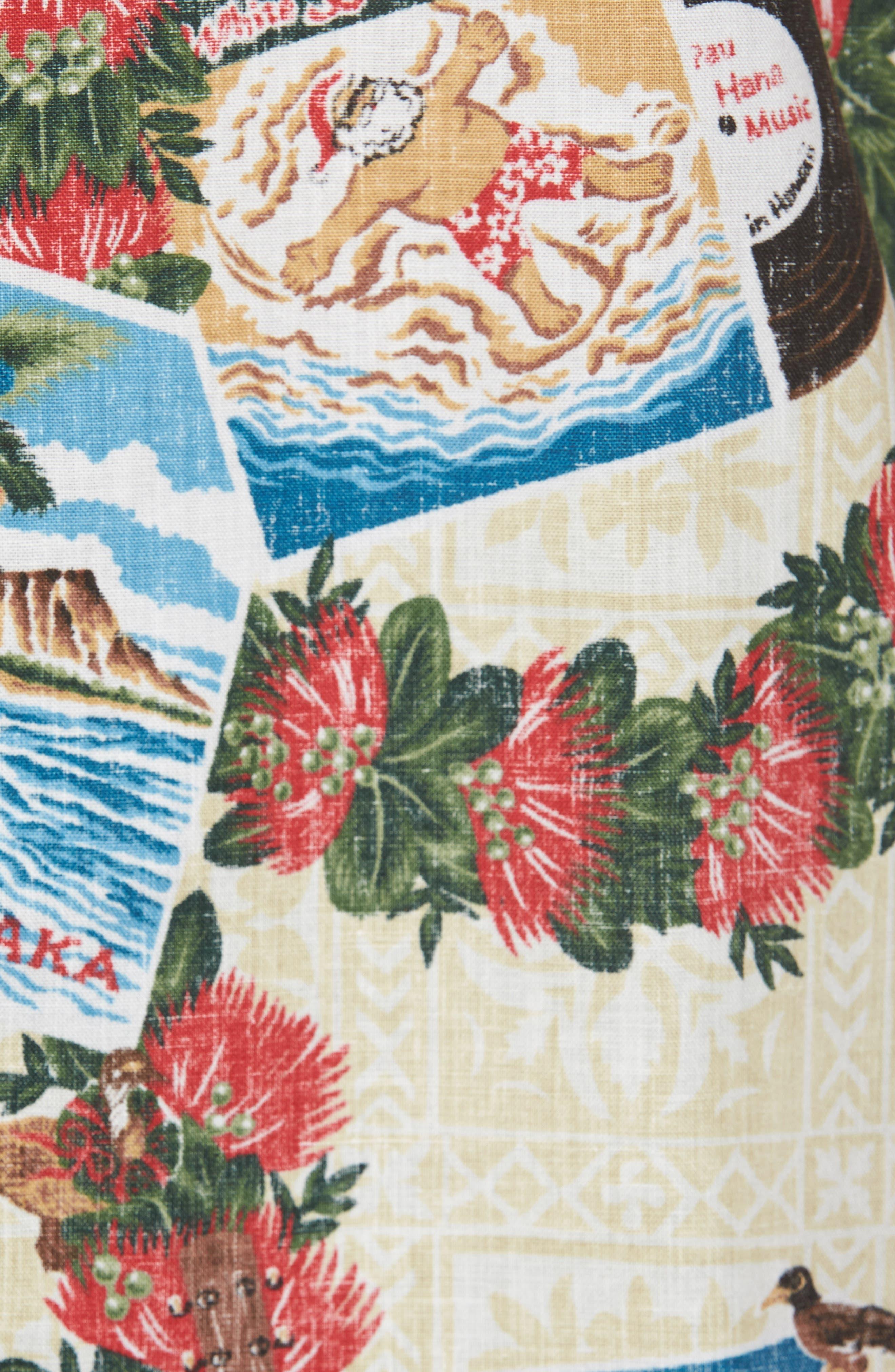 Hawaiian Christmas 2017 Sport Shirt,                             Alternate thumbnail 5, color,                             104