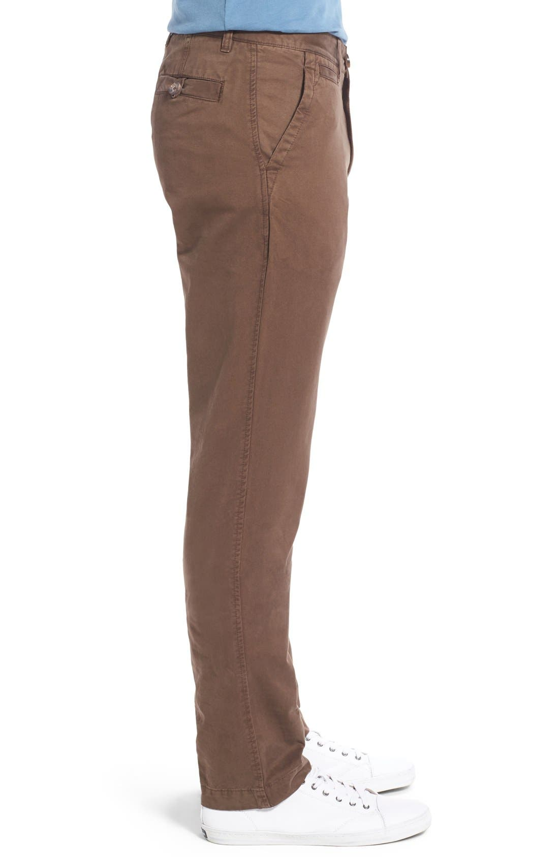 'Sahara' Trim Fit Vintage Washed Twill Chinos,                             Alternate thumbnail 23, color,