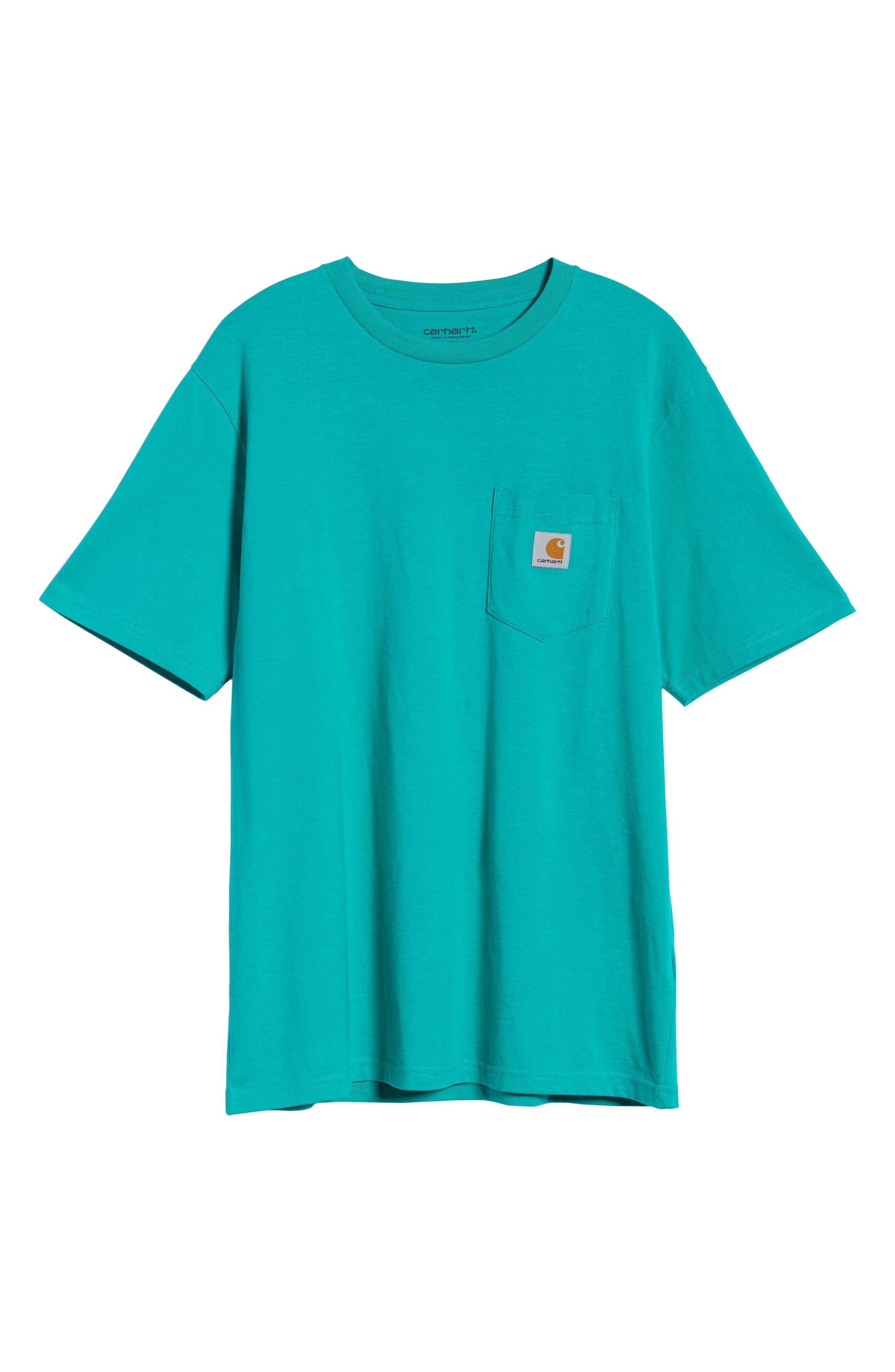 Logo Pocket T-Shirt,                             Alternate thumbnail 6, color,                             CAUMA