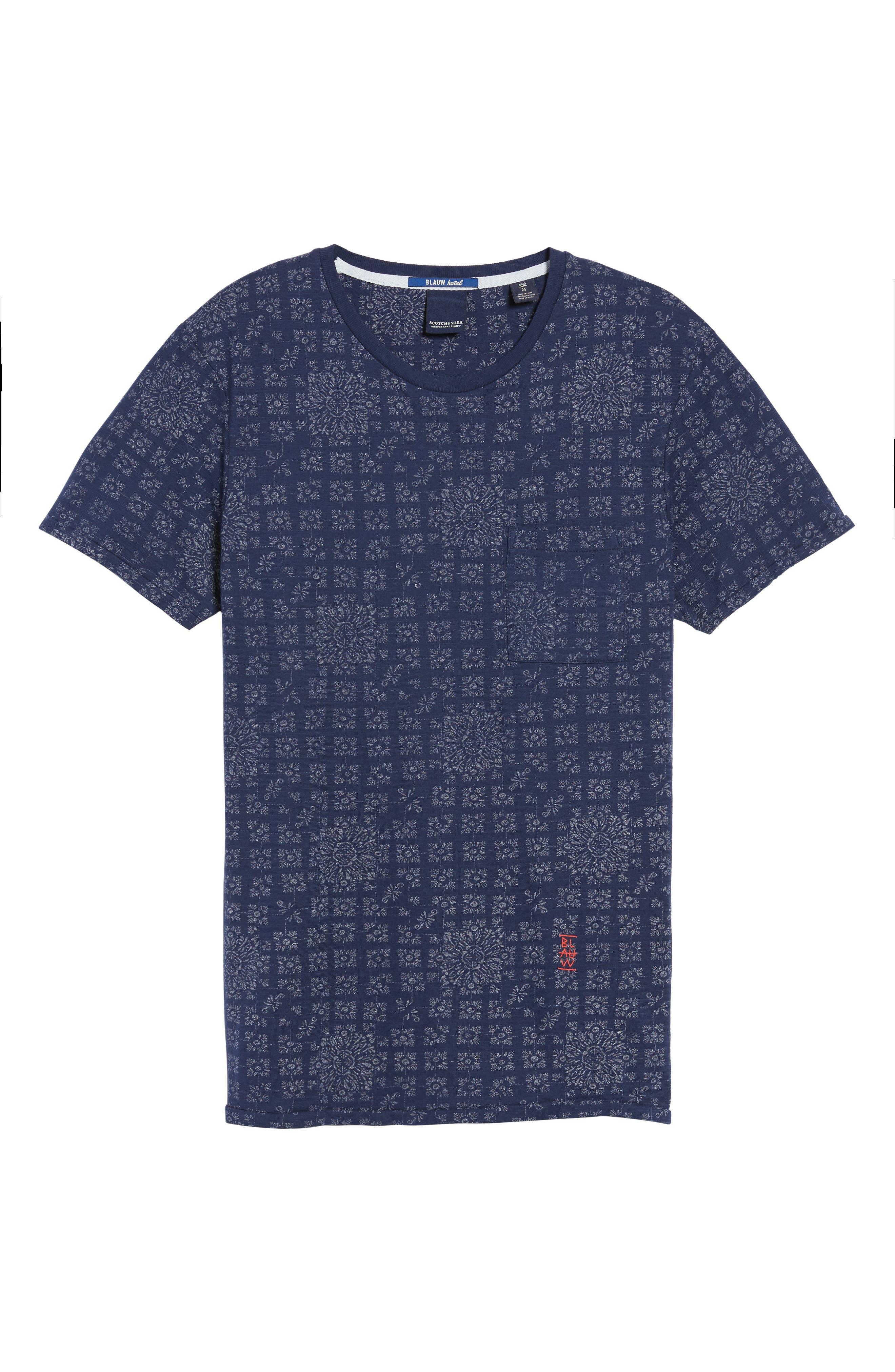 AMS Graphic T-Shirt,                             Alternate thumbnail 6, color,                             410