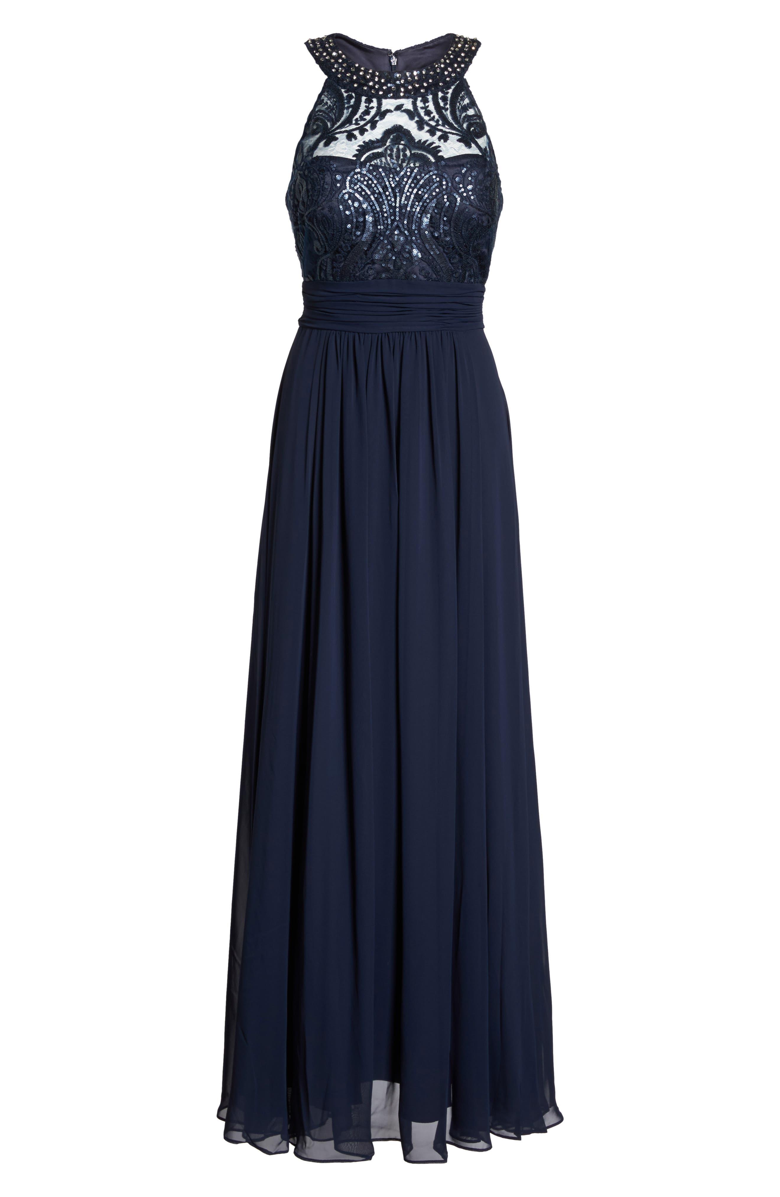 Lace Bodice Gown,                             Alternate thumbnail 24, color,
