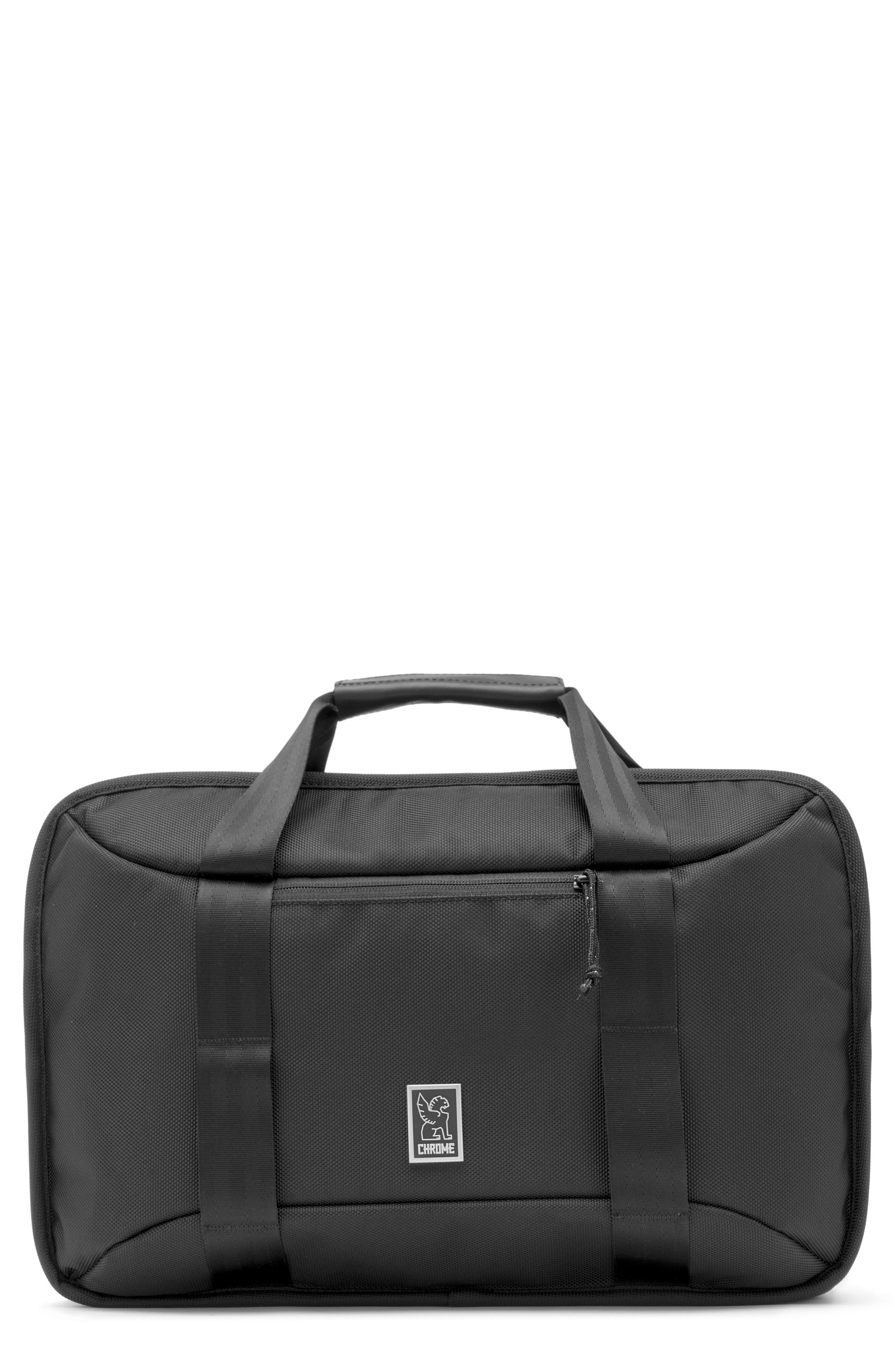 Treadwell Travel Vega Convertible Briefcase,                             Main thumbnail 1, color,                             ALL BLACK