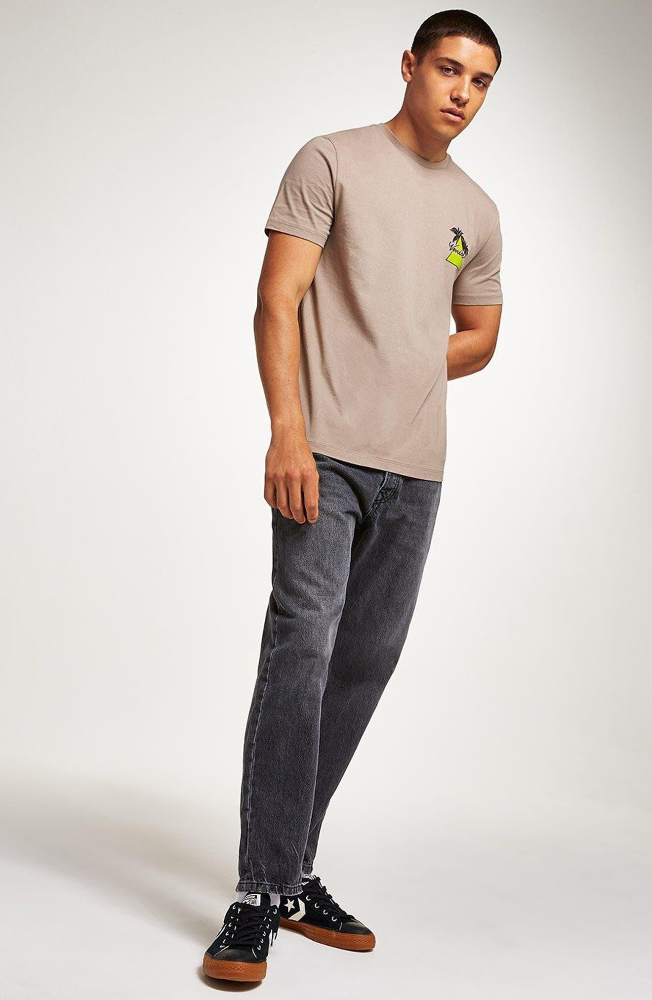 Slim Fit Venice Graphic T-Shirt,                             Alternate thumbnail 5, color,