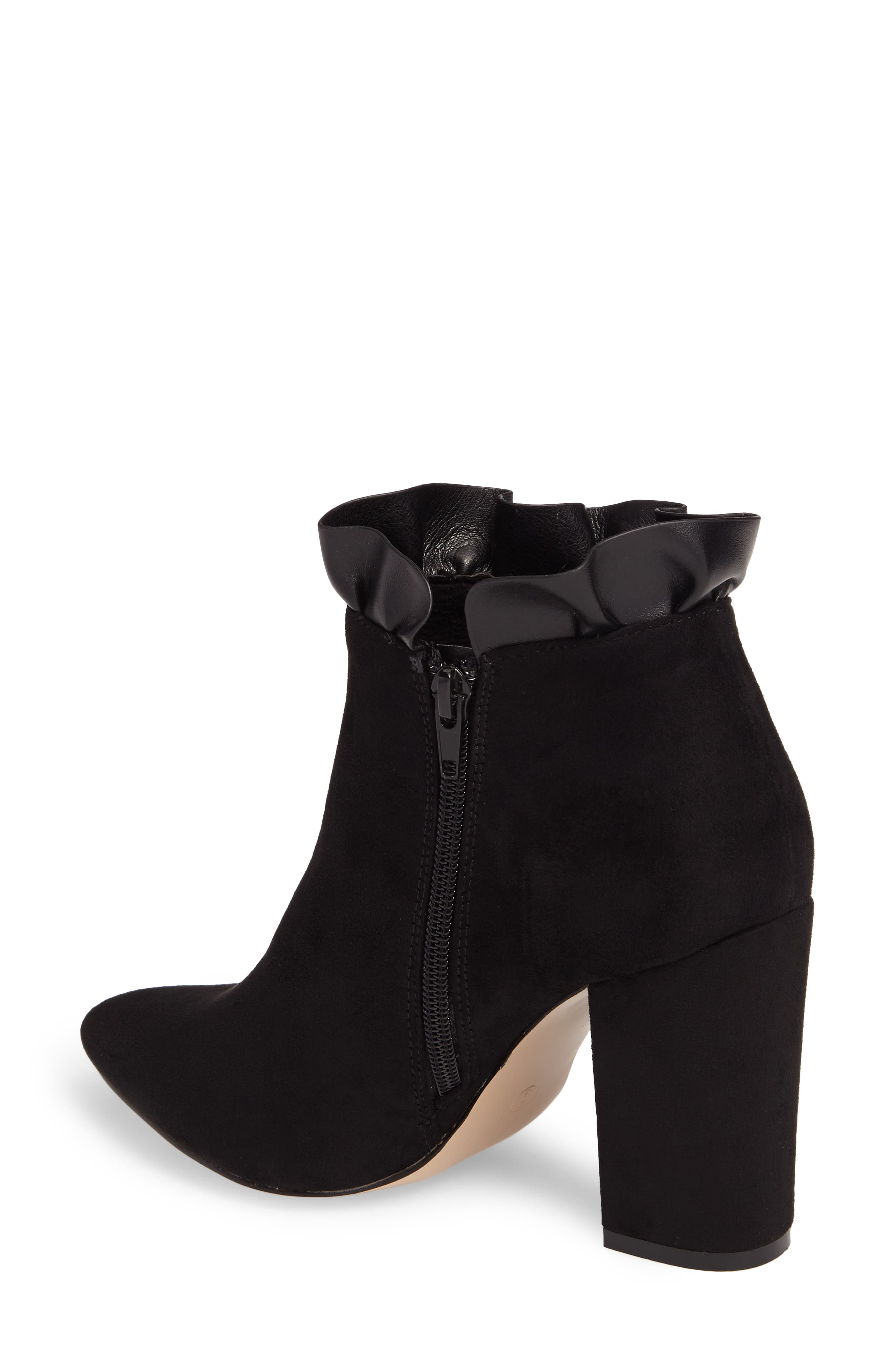 Katana Pointy Toe Bootie,                             Alternate thumbnail 4, color,