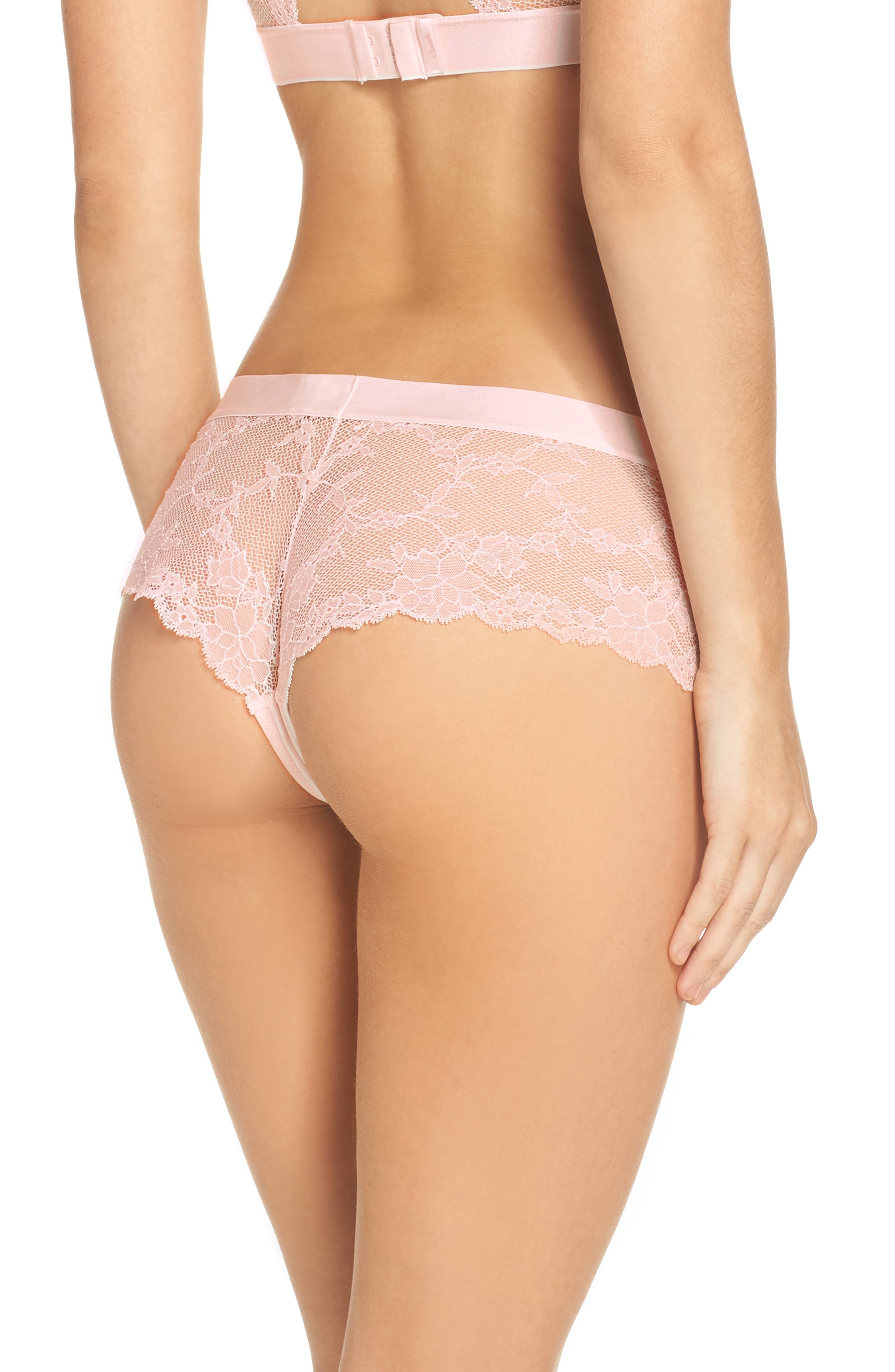 Everyday Lace Hipster Panties,                             Alternate thumbnail 5, color,