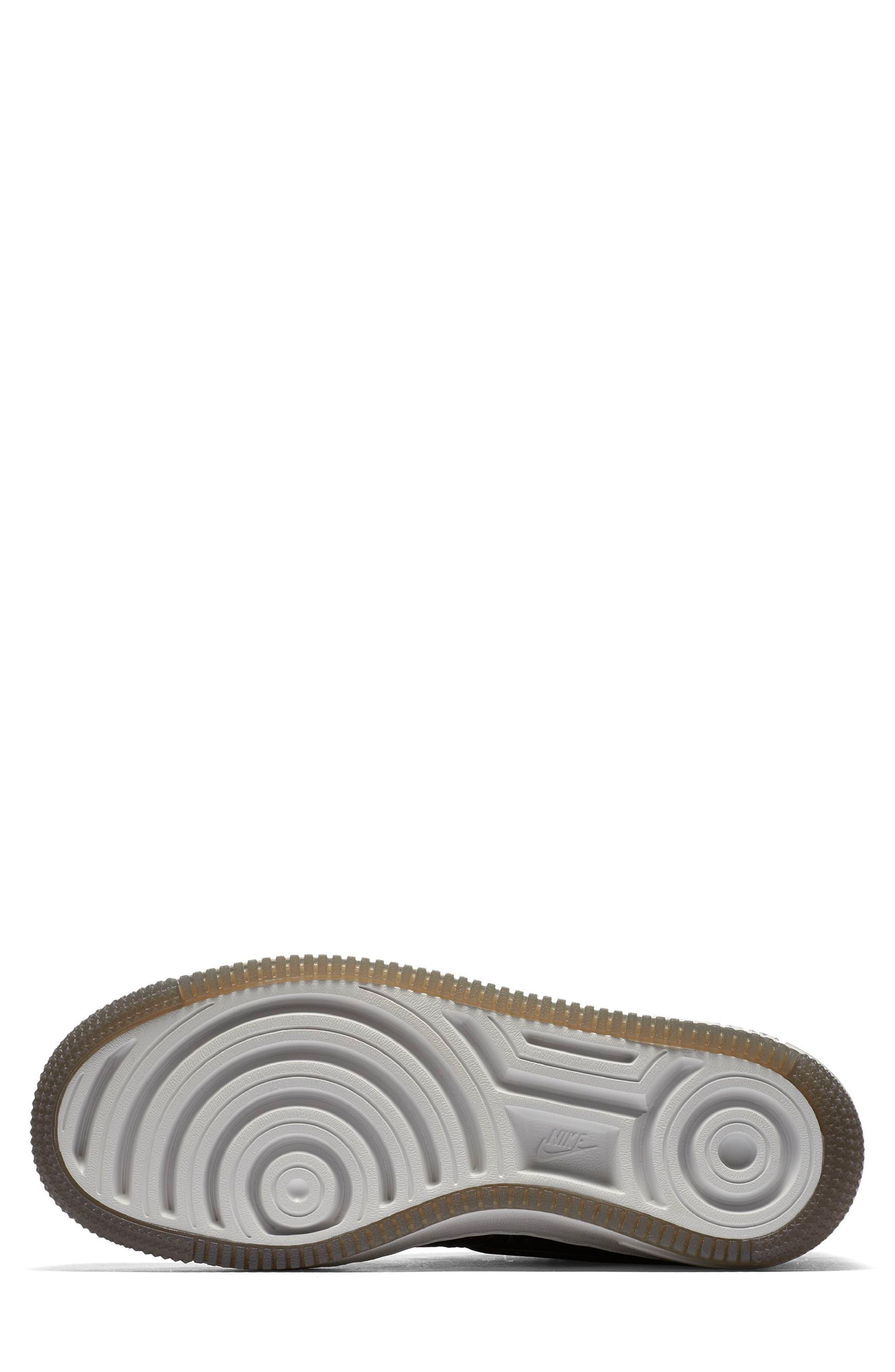 Air Force 1 Upstep Premium Platform Sneaker,                             Alternate thumbnail 5, color,                             022