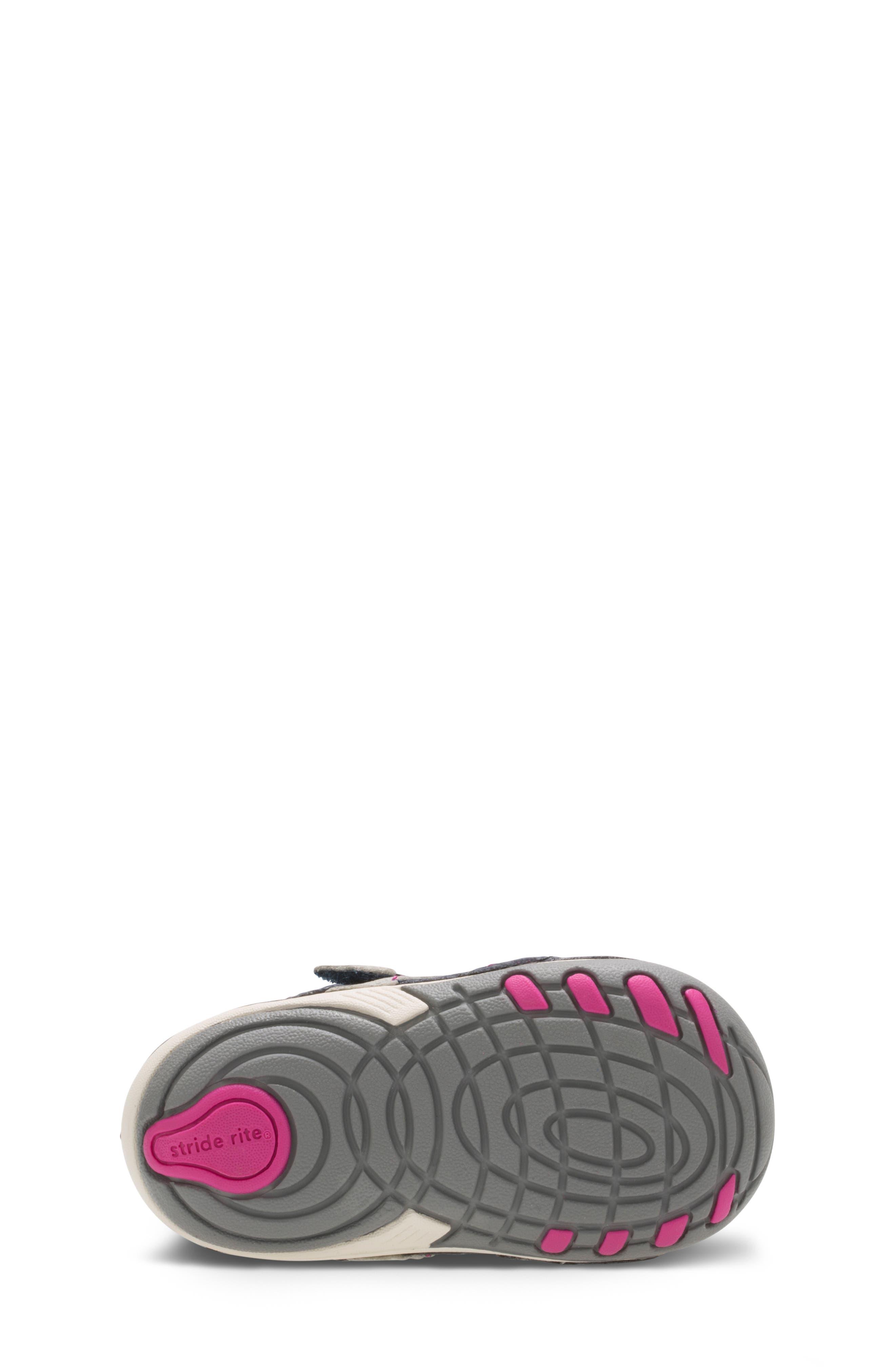 'Artie' Sneaker,                             Alternate thumbnail 4, color,                             NAVY/ PINK