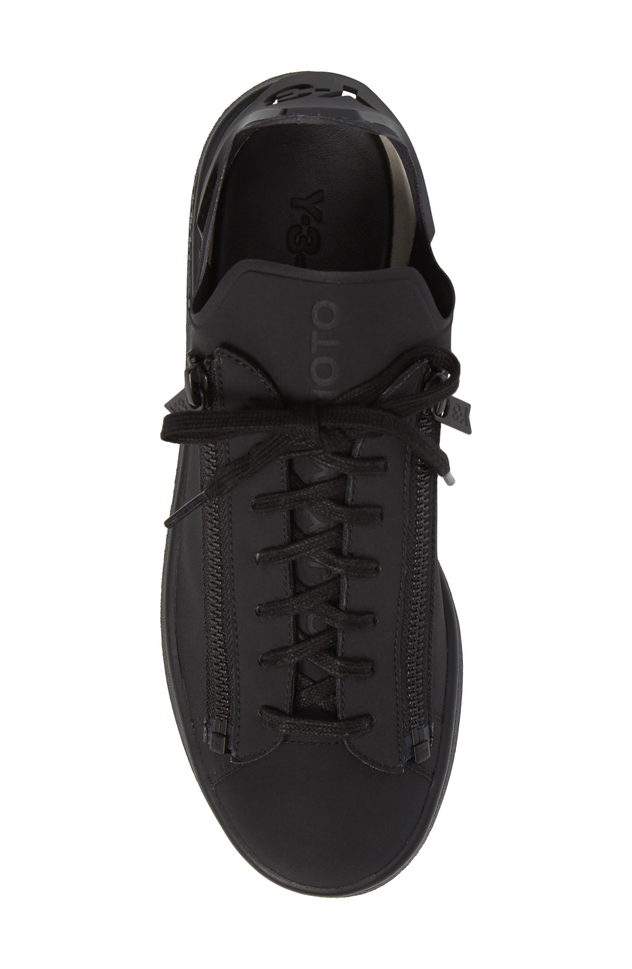 Stan Low Top Sneaker,                             Alternate thumbnail 5, color,                             001