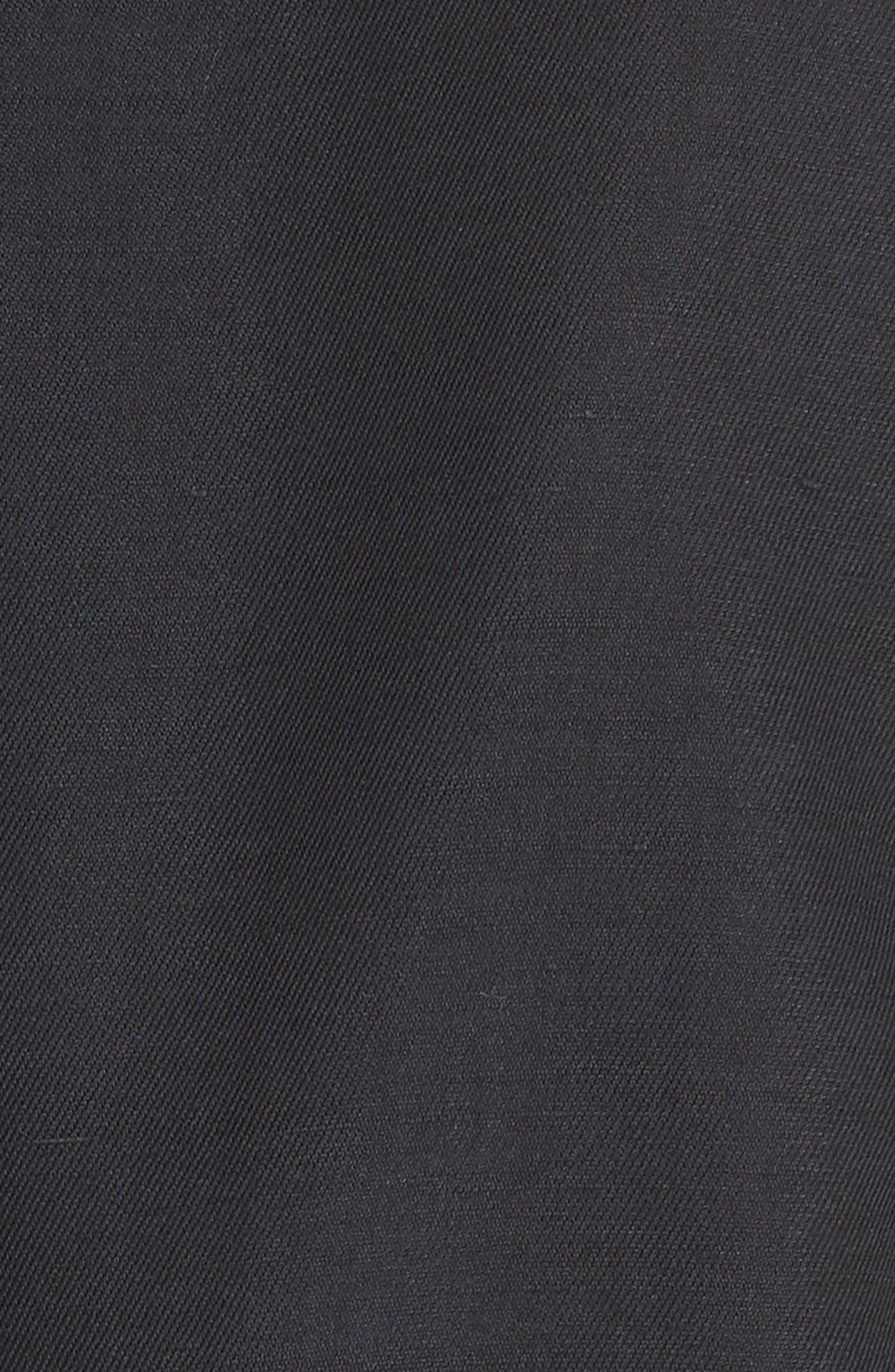 Lian Cotton & Linen Blazer,                             Alternate thumbnail 6, color,                             001