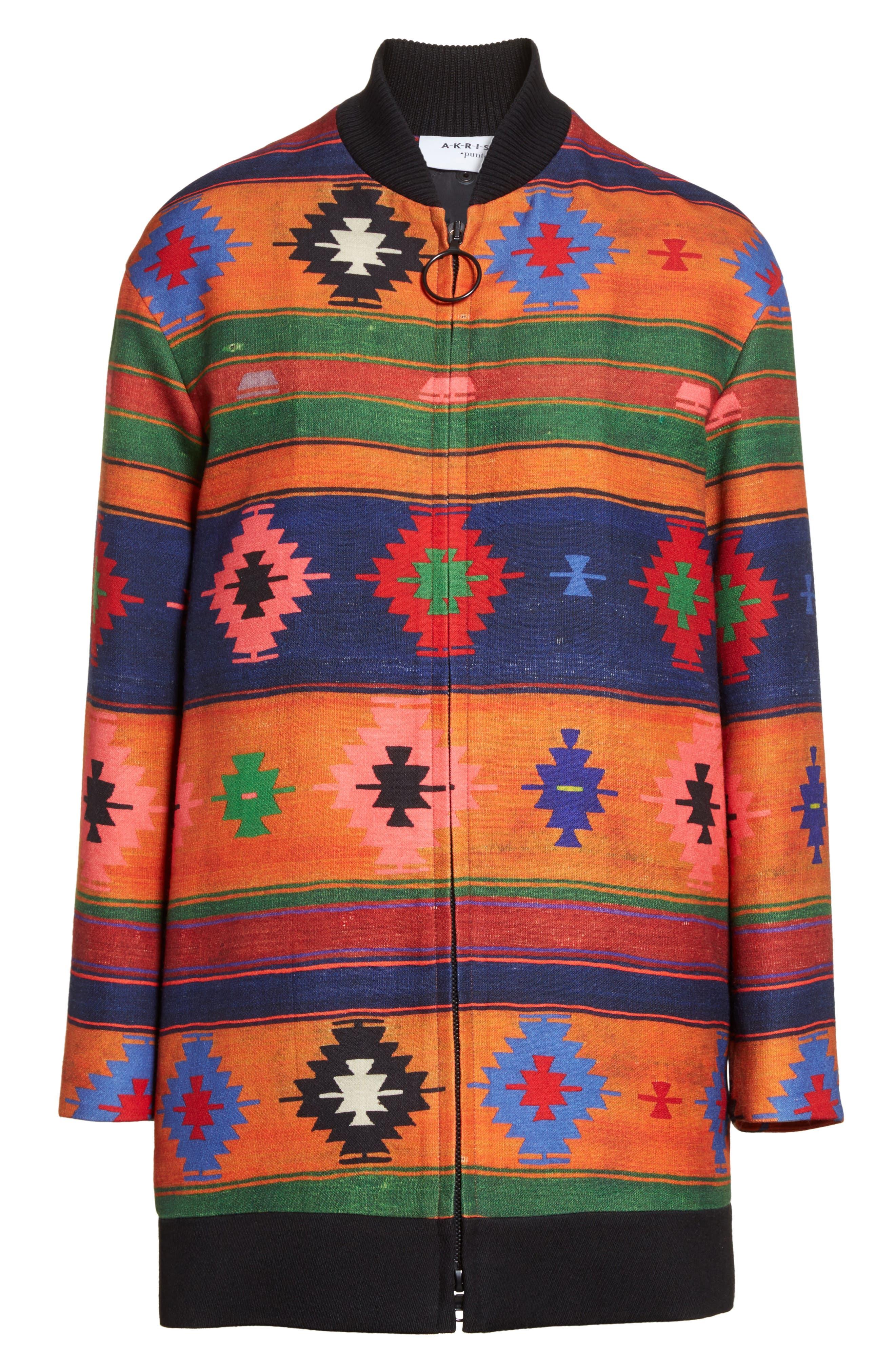 Wool Bomber Jacket,                             Alternate thumbnail 5, color,                             800