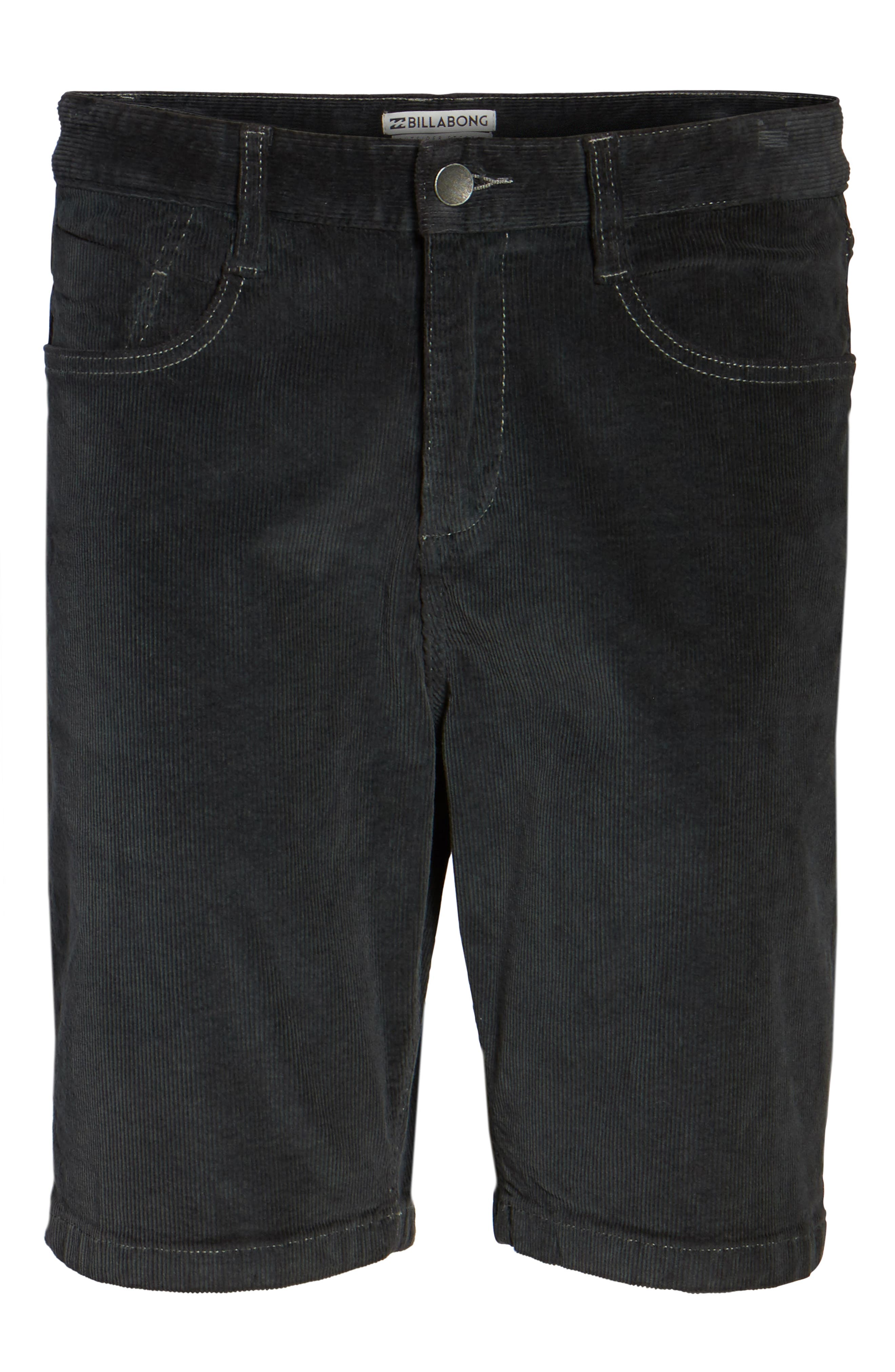 Outsider Corduroy Shorts,                             Alternate thumbnail 6, color,                             010