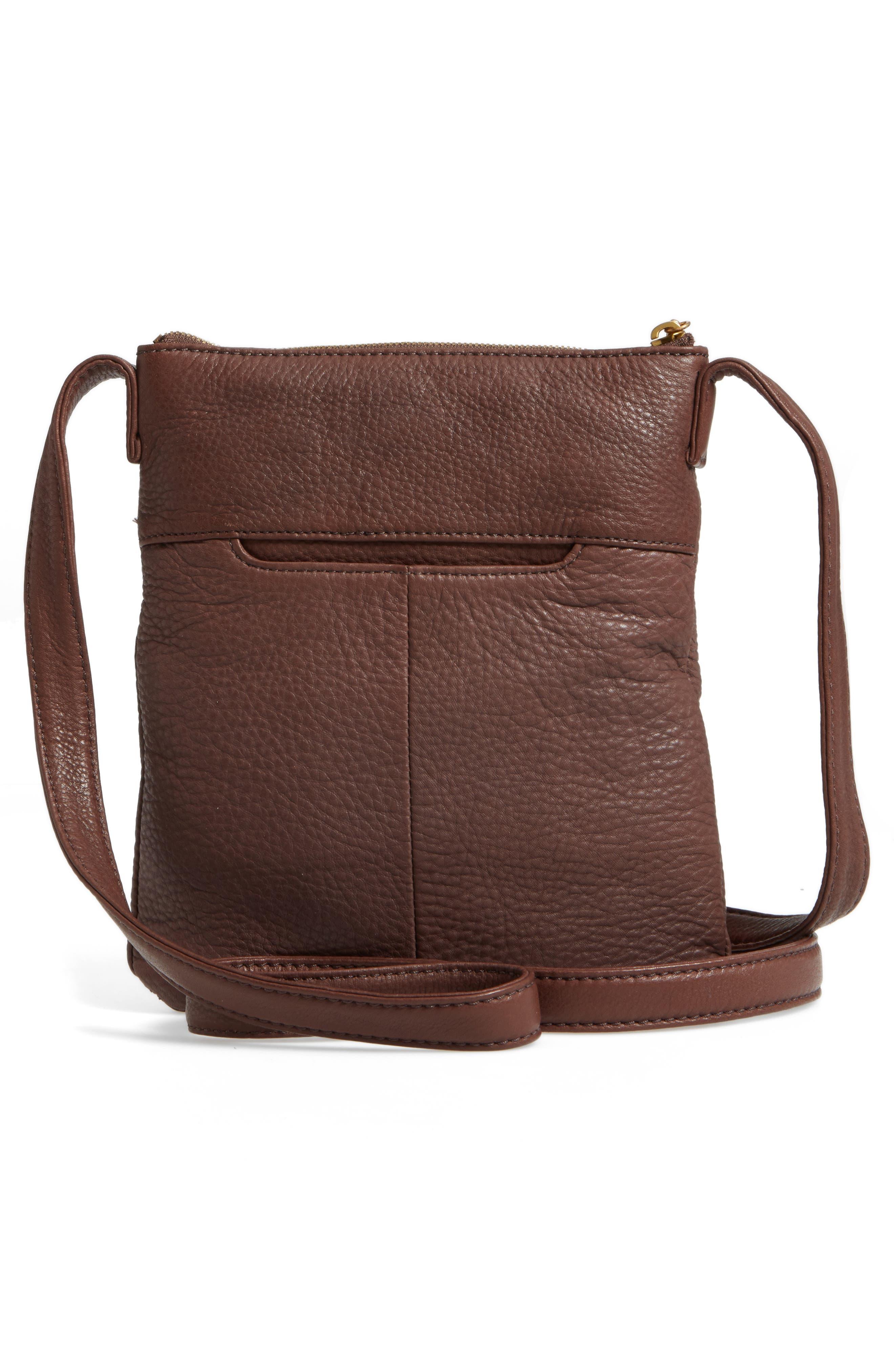 'Sarah' Leather Crossbody Bag,                             Alternate thumbnail 14, color,