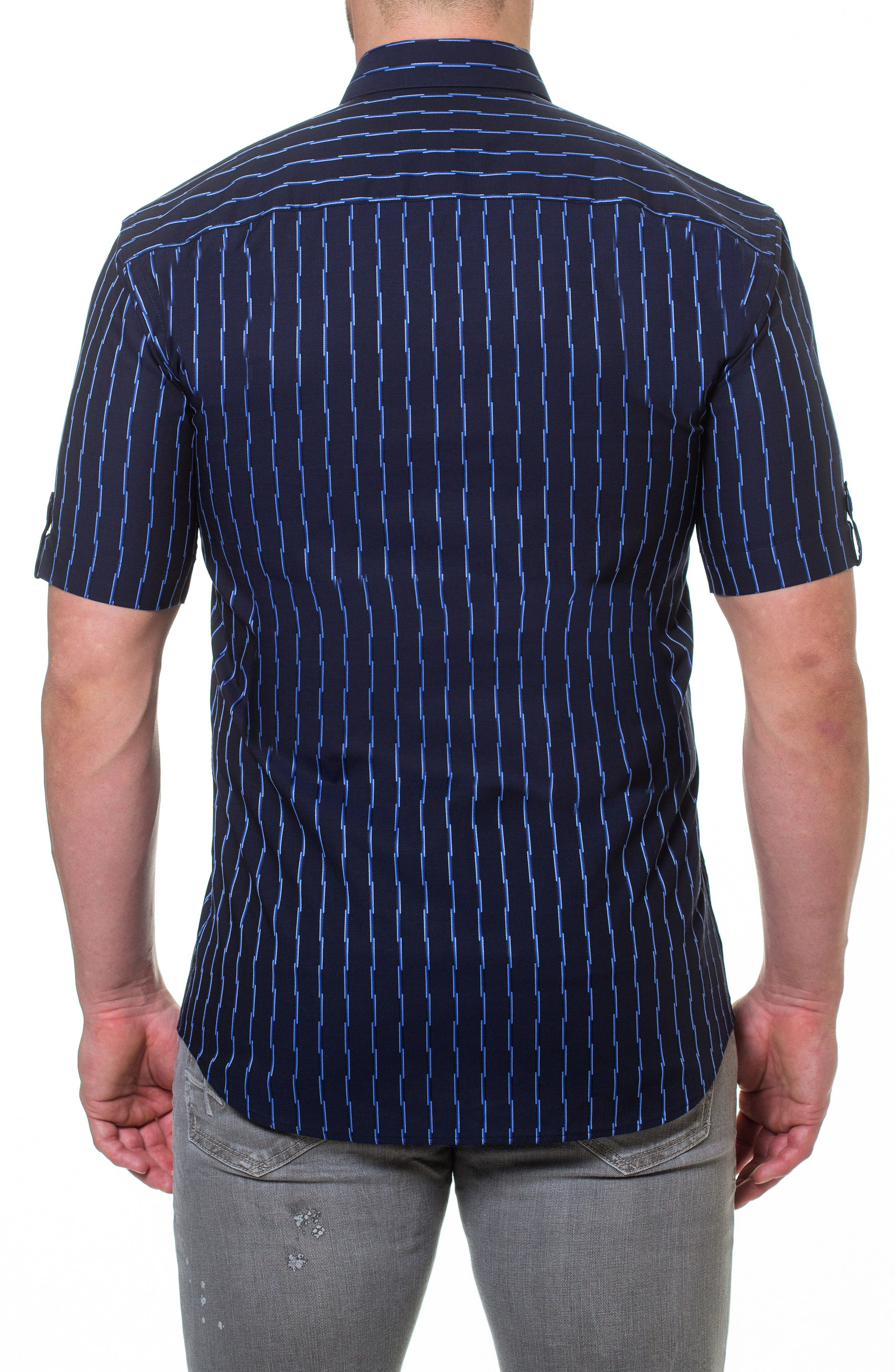 Fresh Link Slim Fit Sport Shirt,                             Alternate thumbnail 2, color,                             420