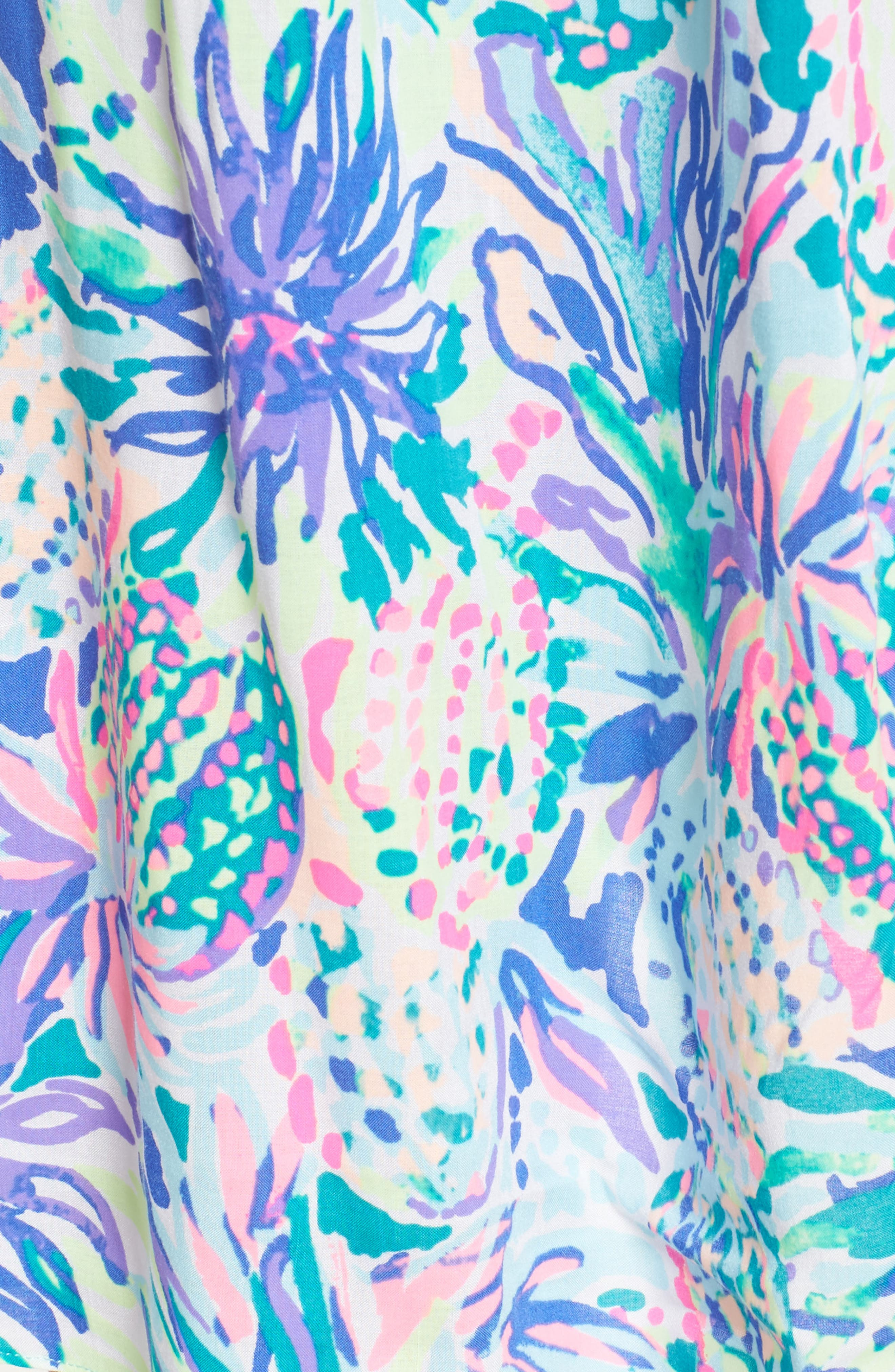 Alanna Cold Shoulder Dress,                             Alternate thumbnail 5, color,                             449