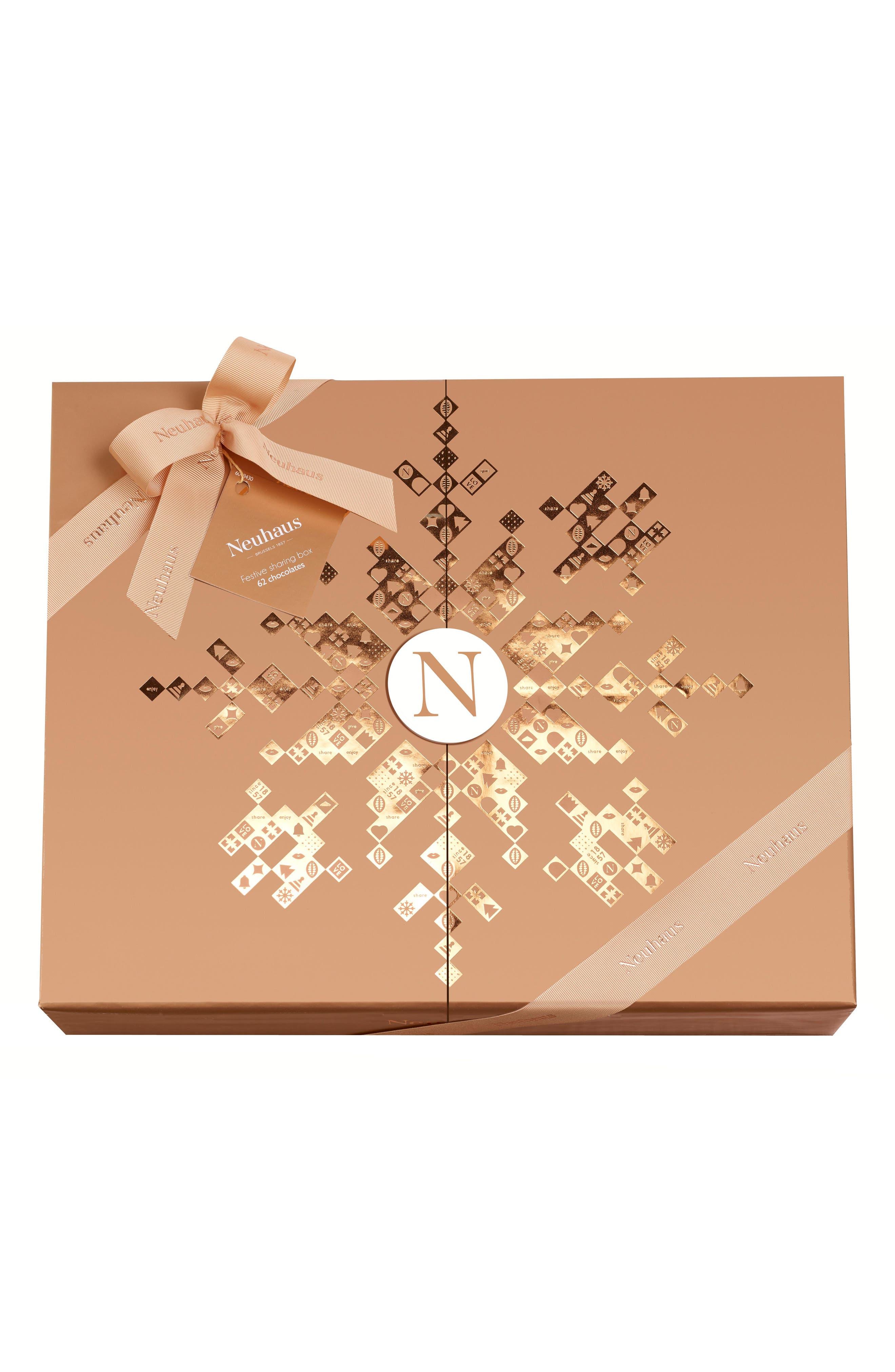 Premium 62-Piece Chocolate Gift Box,                             Main thumbnail 1, color,                             710
