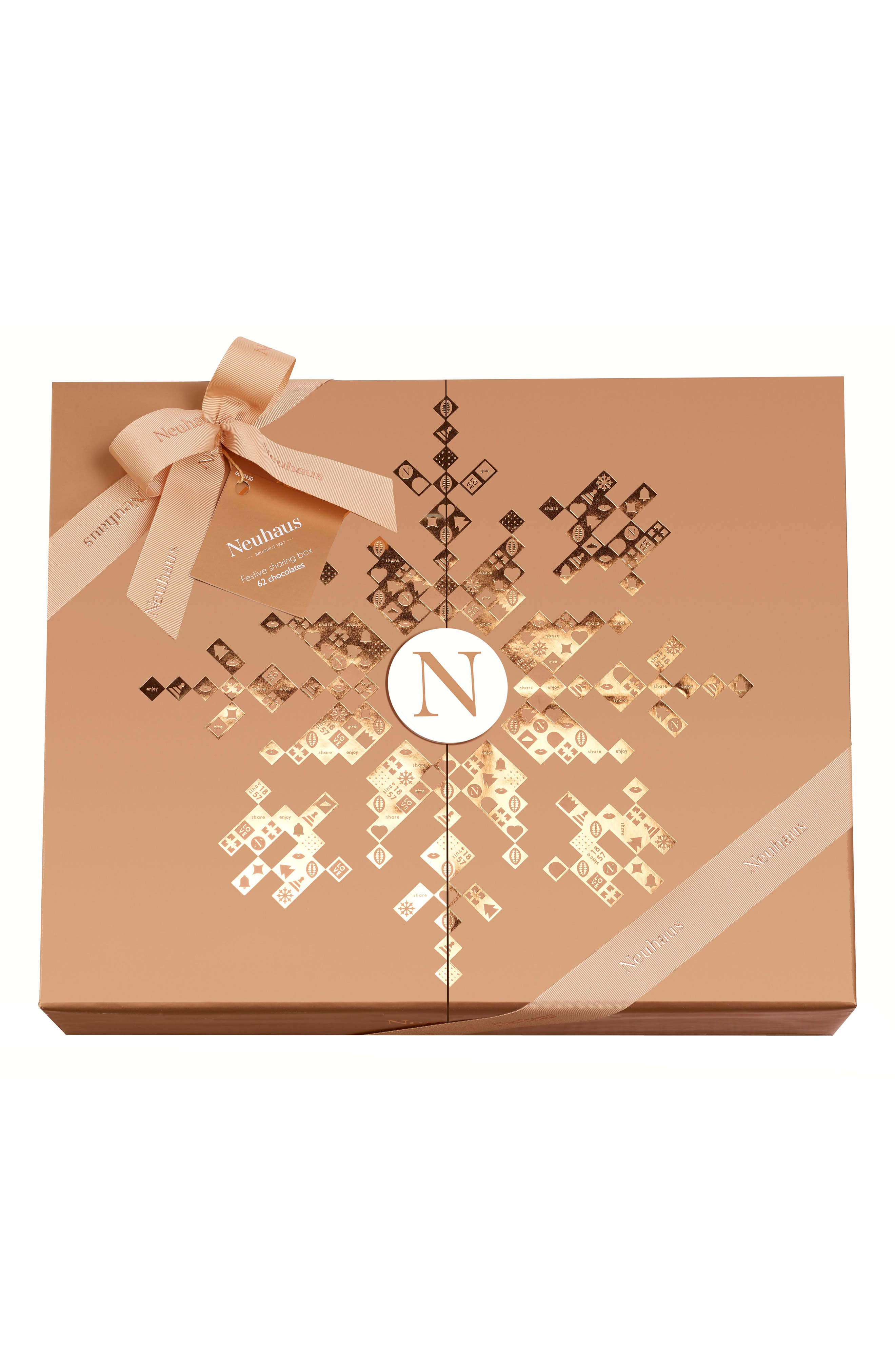 Premium 62-Piece Chocolate Gift Box, Main, color, 710