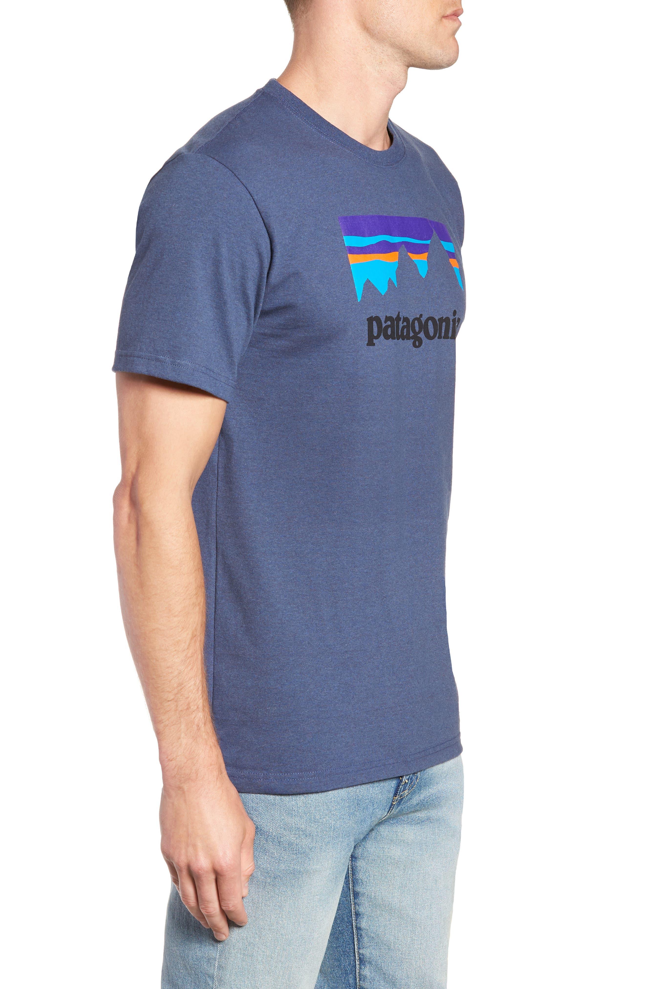 Shop Sticker Responsibili-Tee T-Shirt,                             Alternate thumbnail 3, color,                             DOLOMITE BLUE