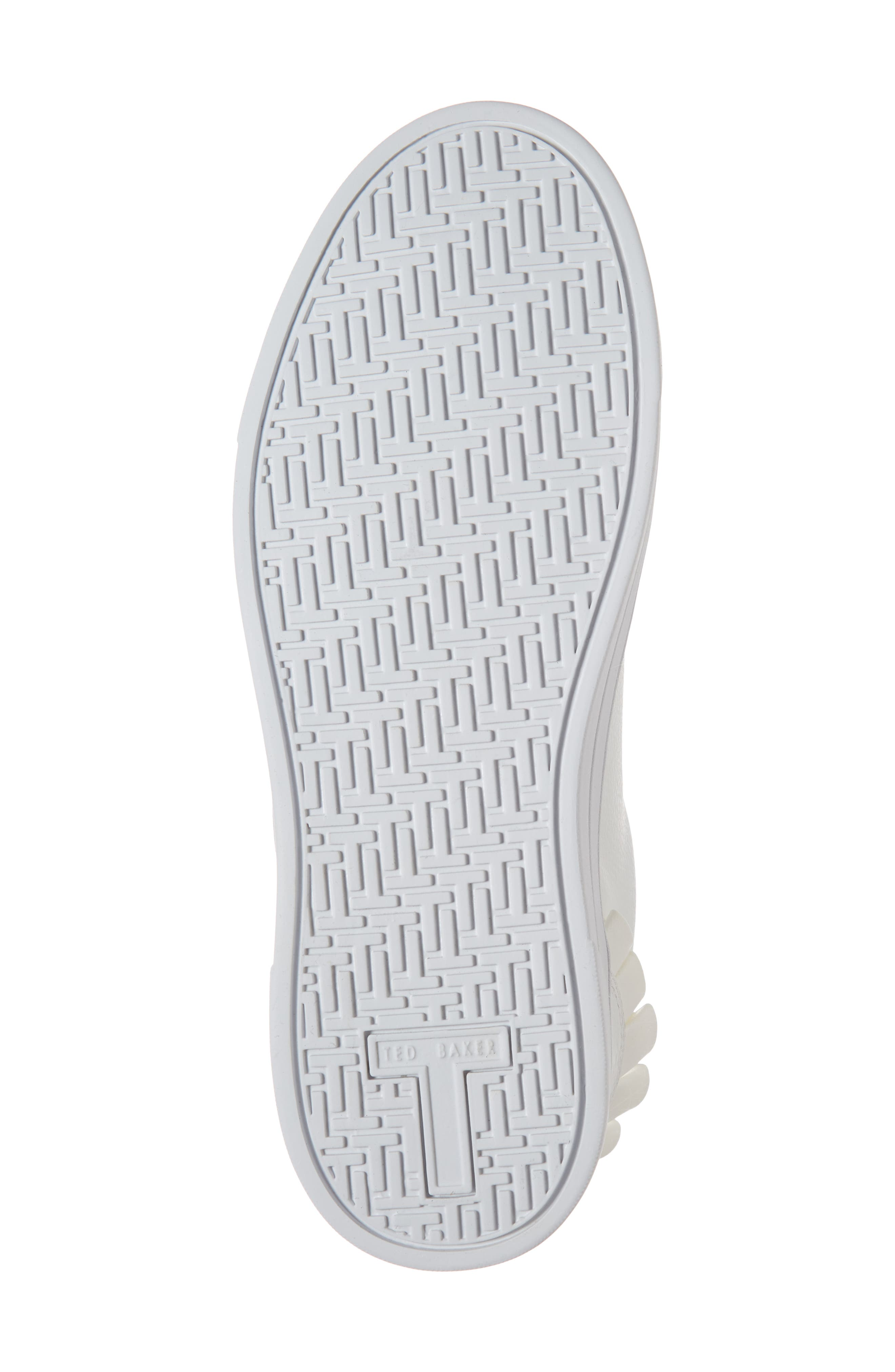 Astrina Sneaker,                             Alternate thumbnail 6, color,                             WHITE LEATHER