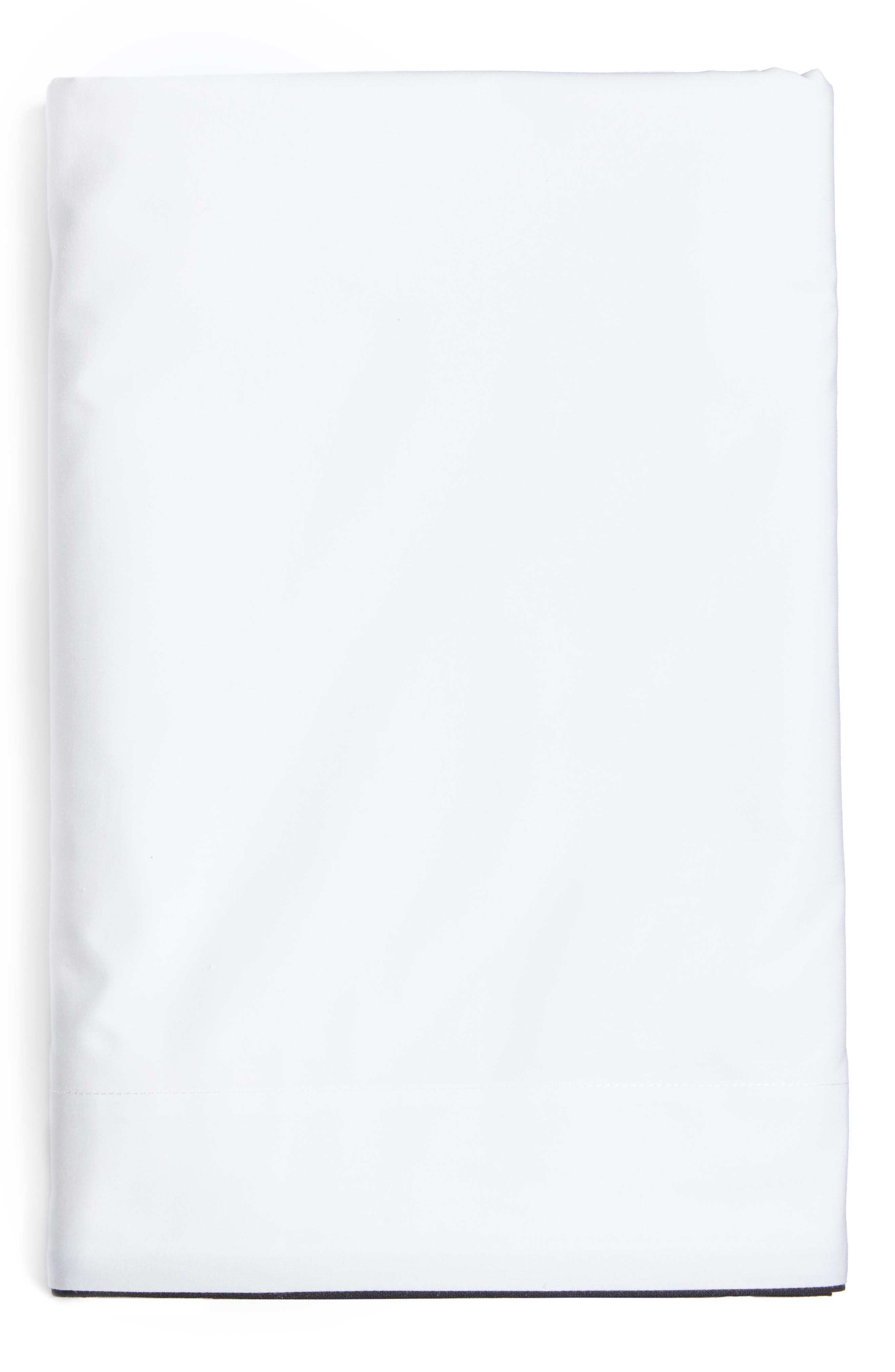 Series 1 500 Thread Count Flat Sheet,                             Main thumbnail 1, color,                             001