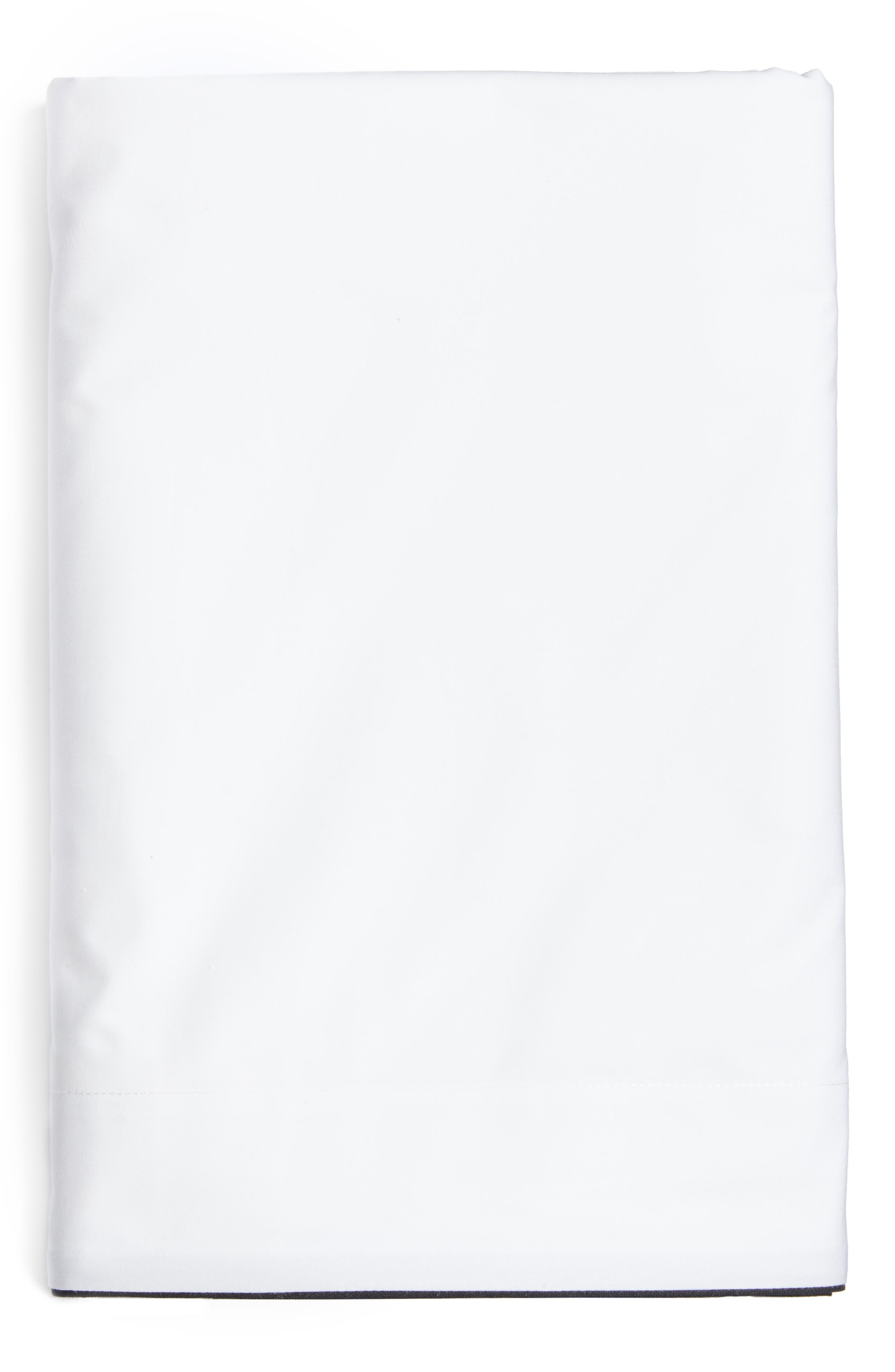 Series 1 500 Thread Count Flat Sheet,                         Main,                         color, 001