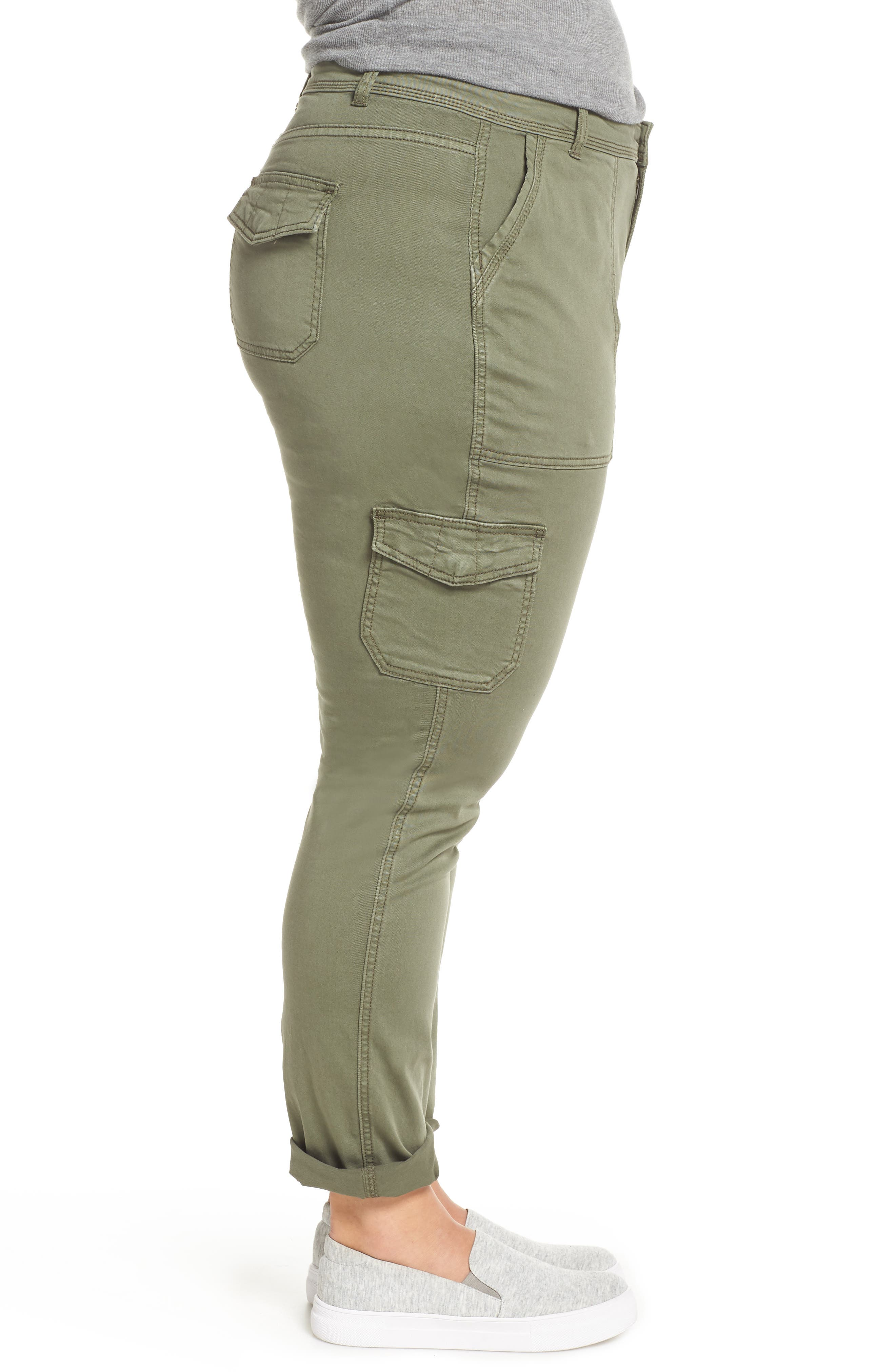 Stretch Twill Utility Pants,                             Alternate thumbnail 3, color,                             301