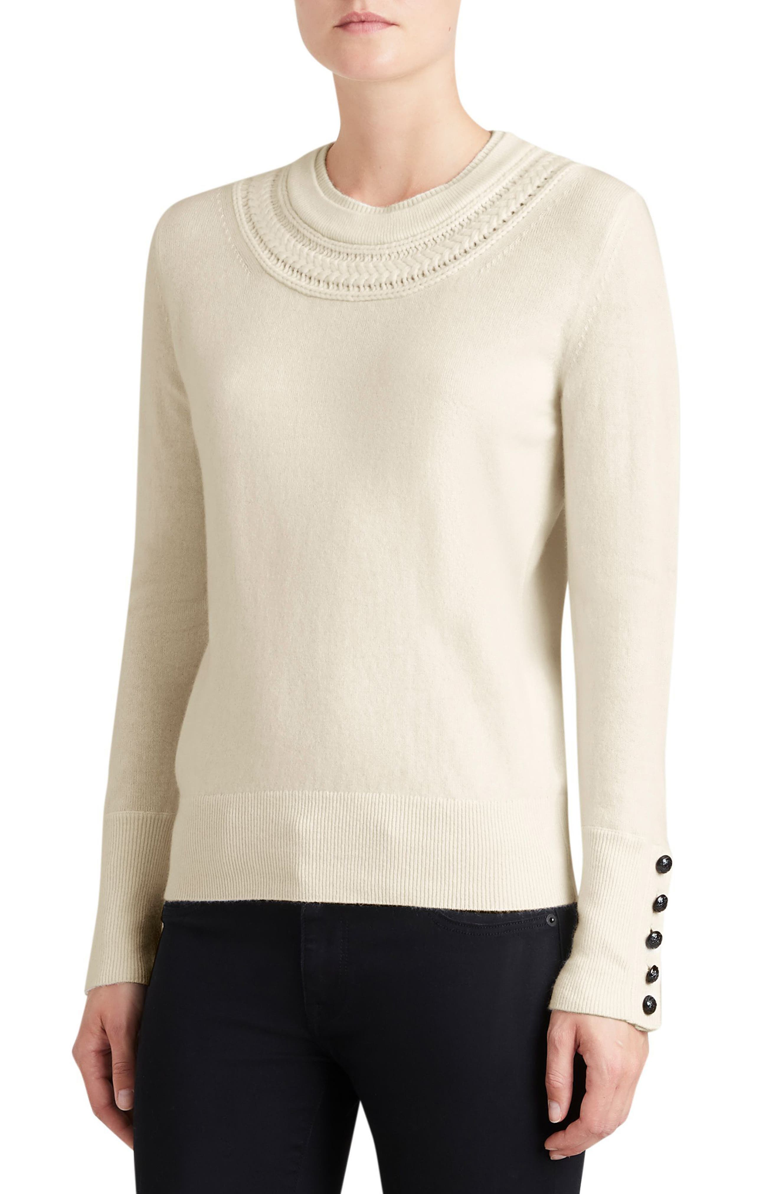 Carapelle Cashmere Sweater,                             Main thumbnail 2, color,