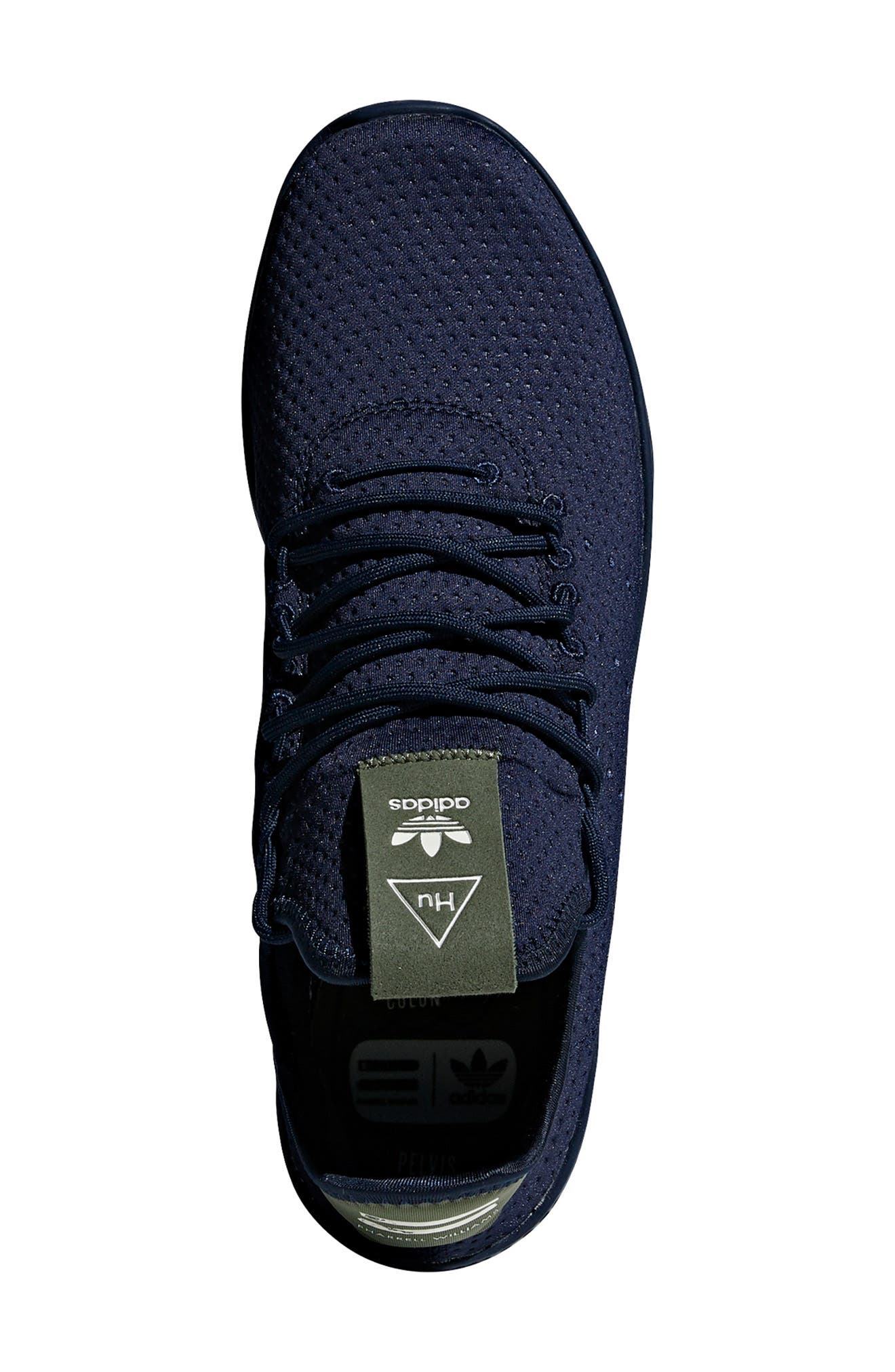 Pharrell Williams Tennis Hu Sneaker,                             Alternate thumbnail 4, color,                             415