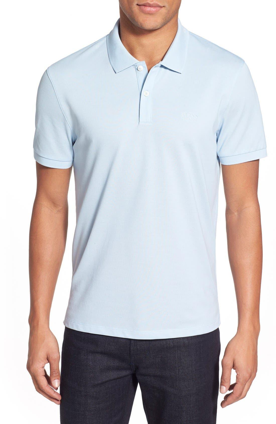 'Pallas' Regular Fit Logo Embroidered Polo Shirt,                             Main thumbnail 12, color,